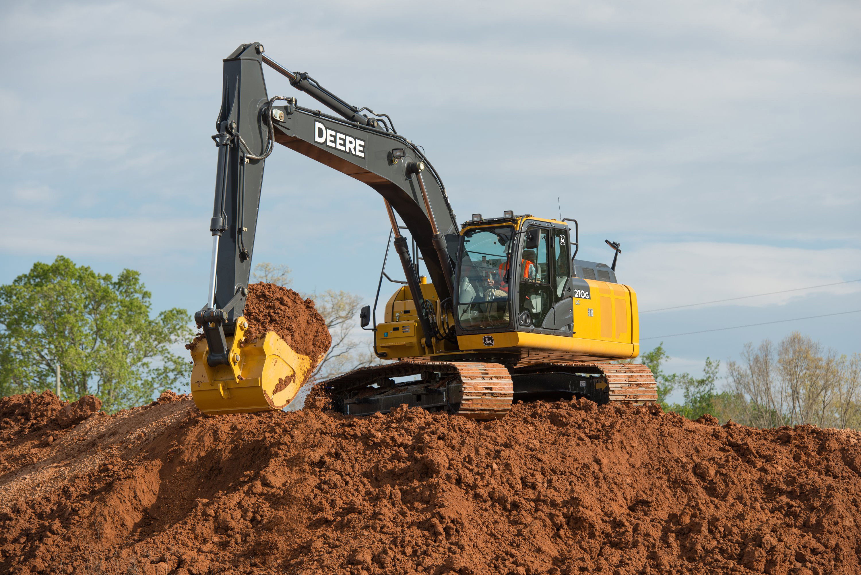 Refinements, Updated Emissions Elevate John Deere's 210G LC Excavator