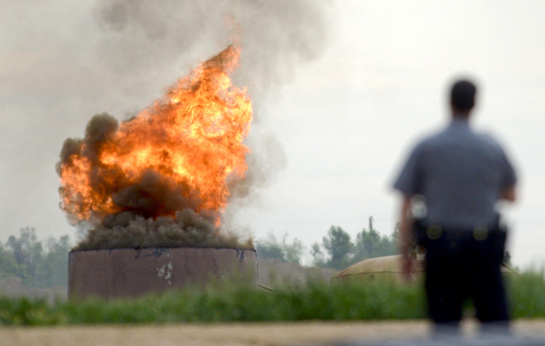 Explosion photo