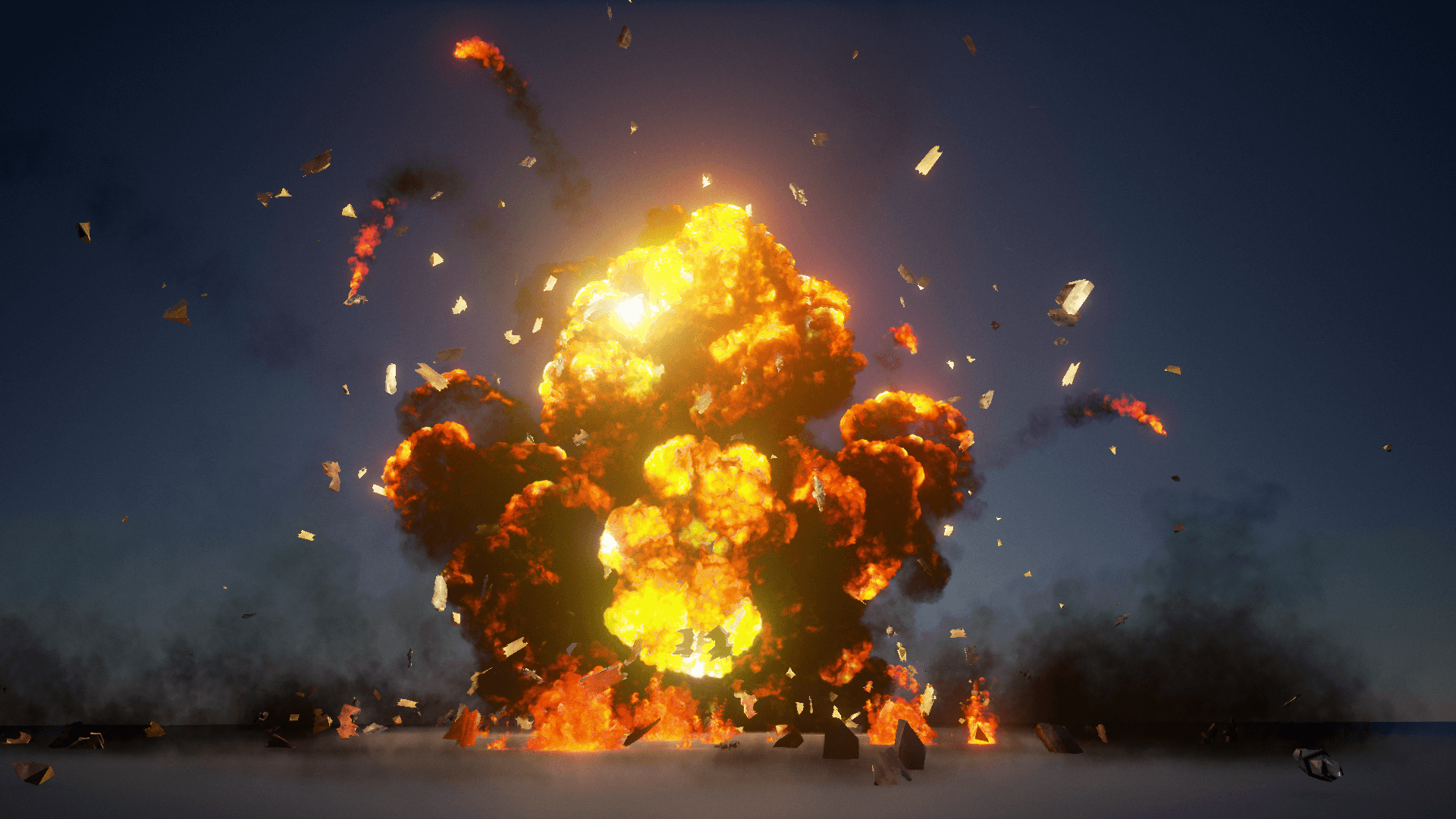 The Explosions Mega Pack by Advanced Asset Packs in FX - UE4 Marketplace