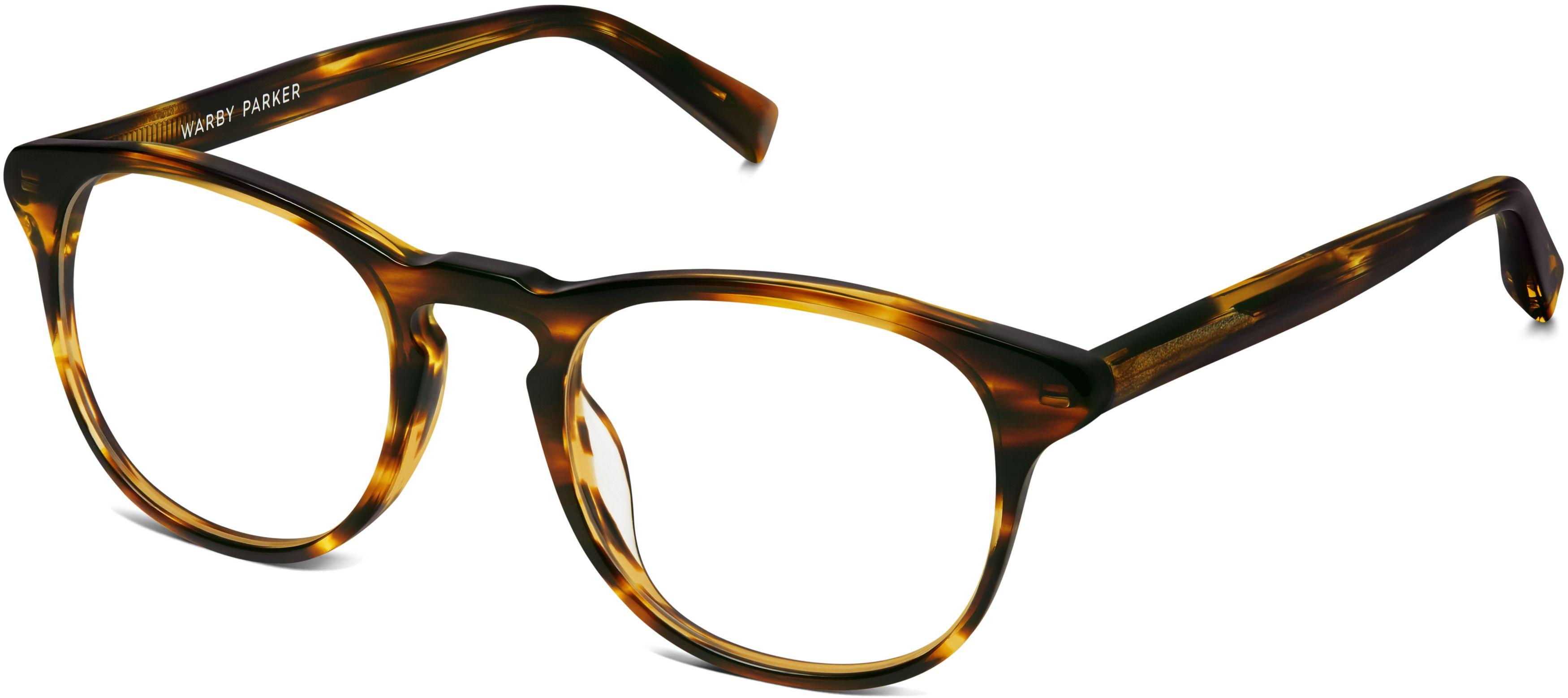 Baker Eyeglasses in Striped Sassafras for Women | Warby Parker