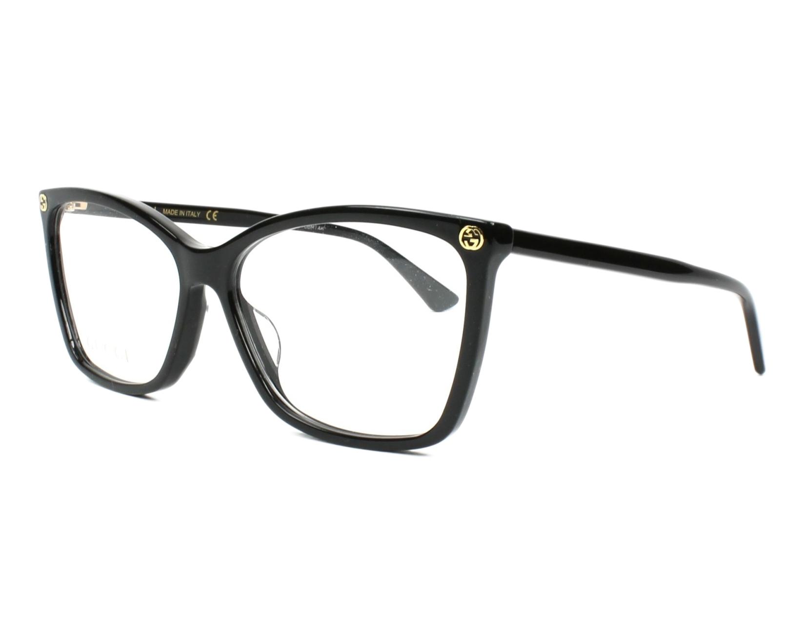 Gucci Eyeglasses GG-00250 001 Black   visio-net.com