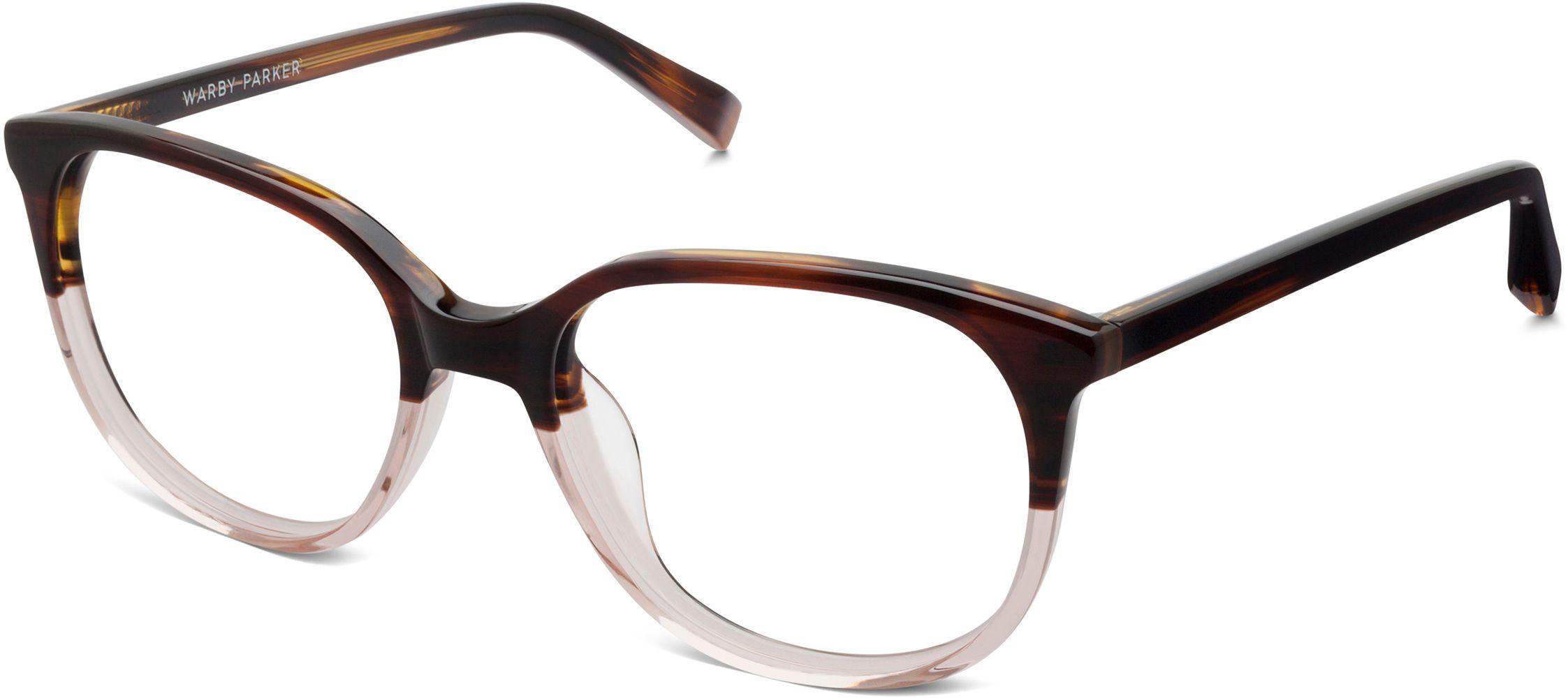 Laurel Eyeglasses in Tea Rose Fade for Women | Warby Parker