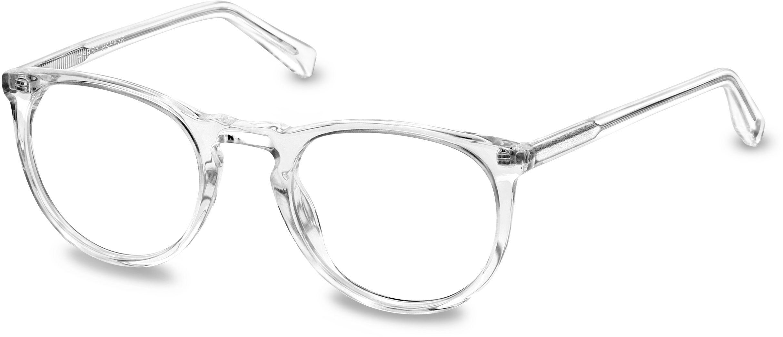 Haskell Eyeglasses in Crystal for Men | Warby Parker