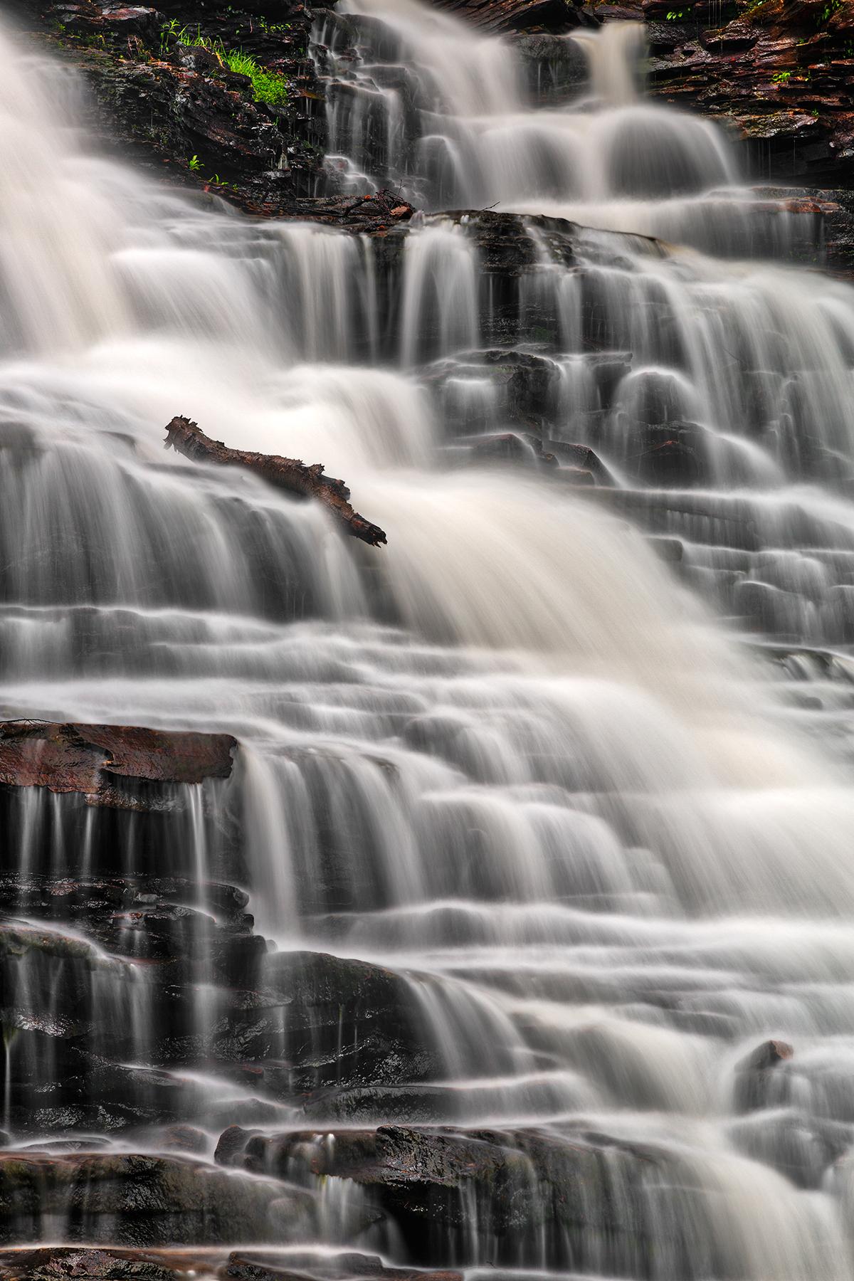 F.L. Ricketts Falls - HDR, America, Pennsylvania, Scenery, Scene, HQ Photo