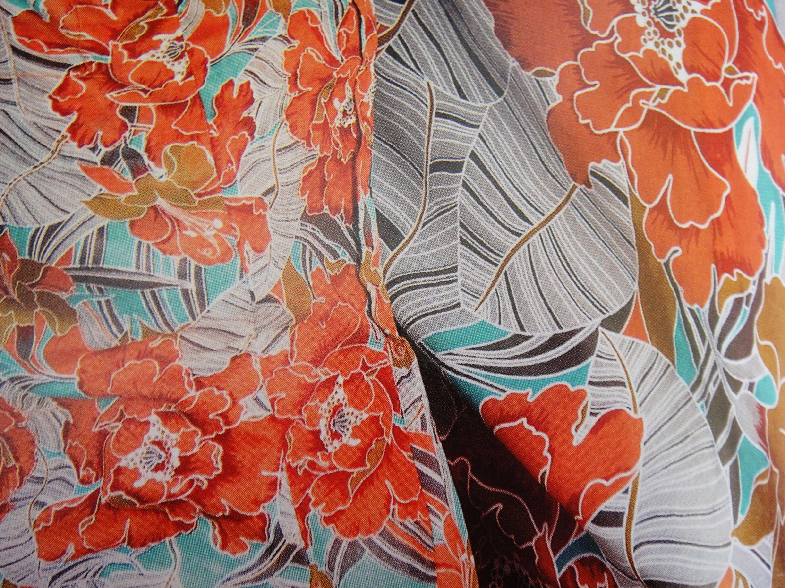 Fabric colour full design photo