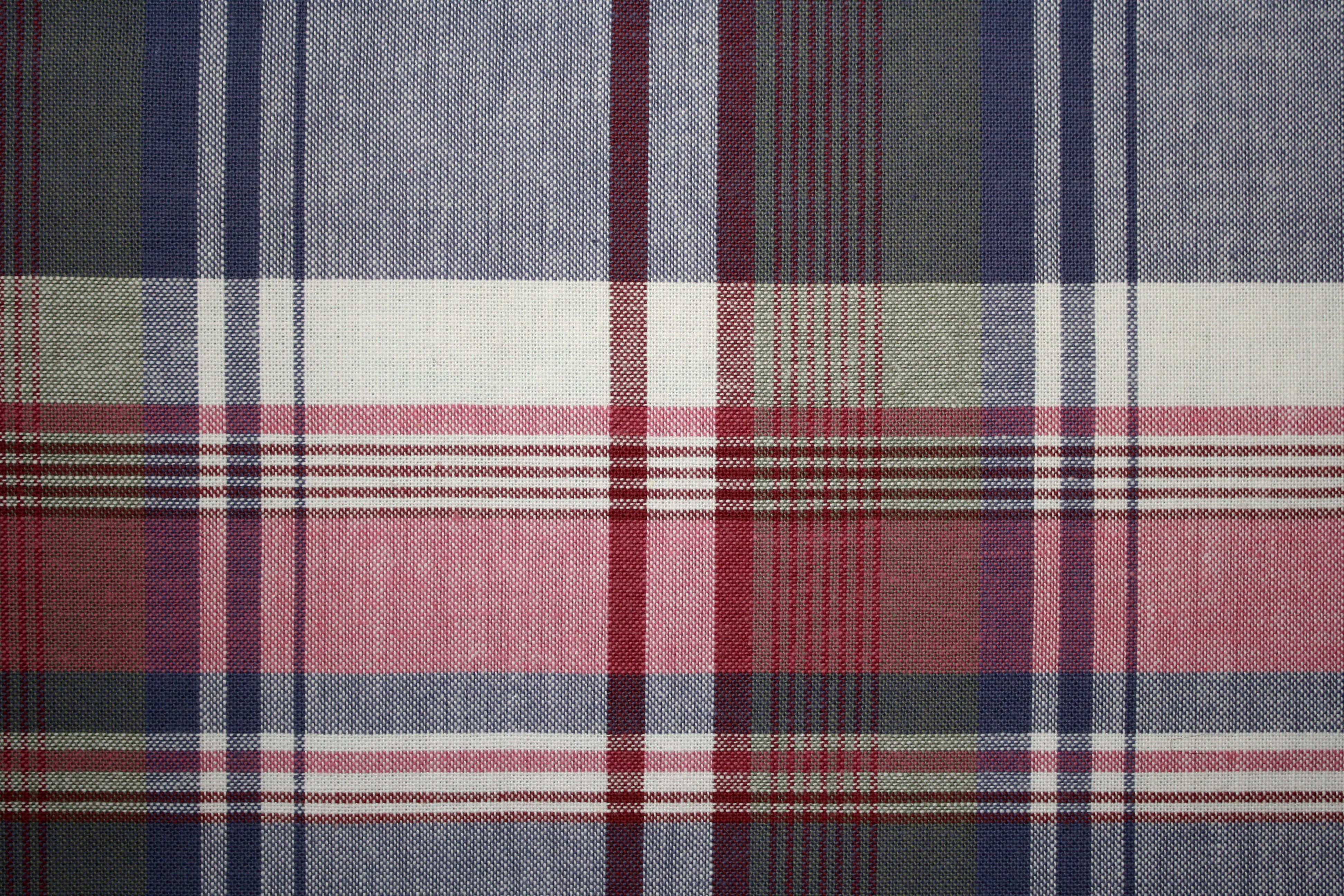 Plaid Fabric Texture – Red and Blue with Green | Pretty amaze ...