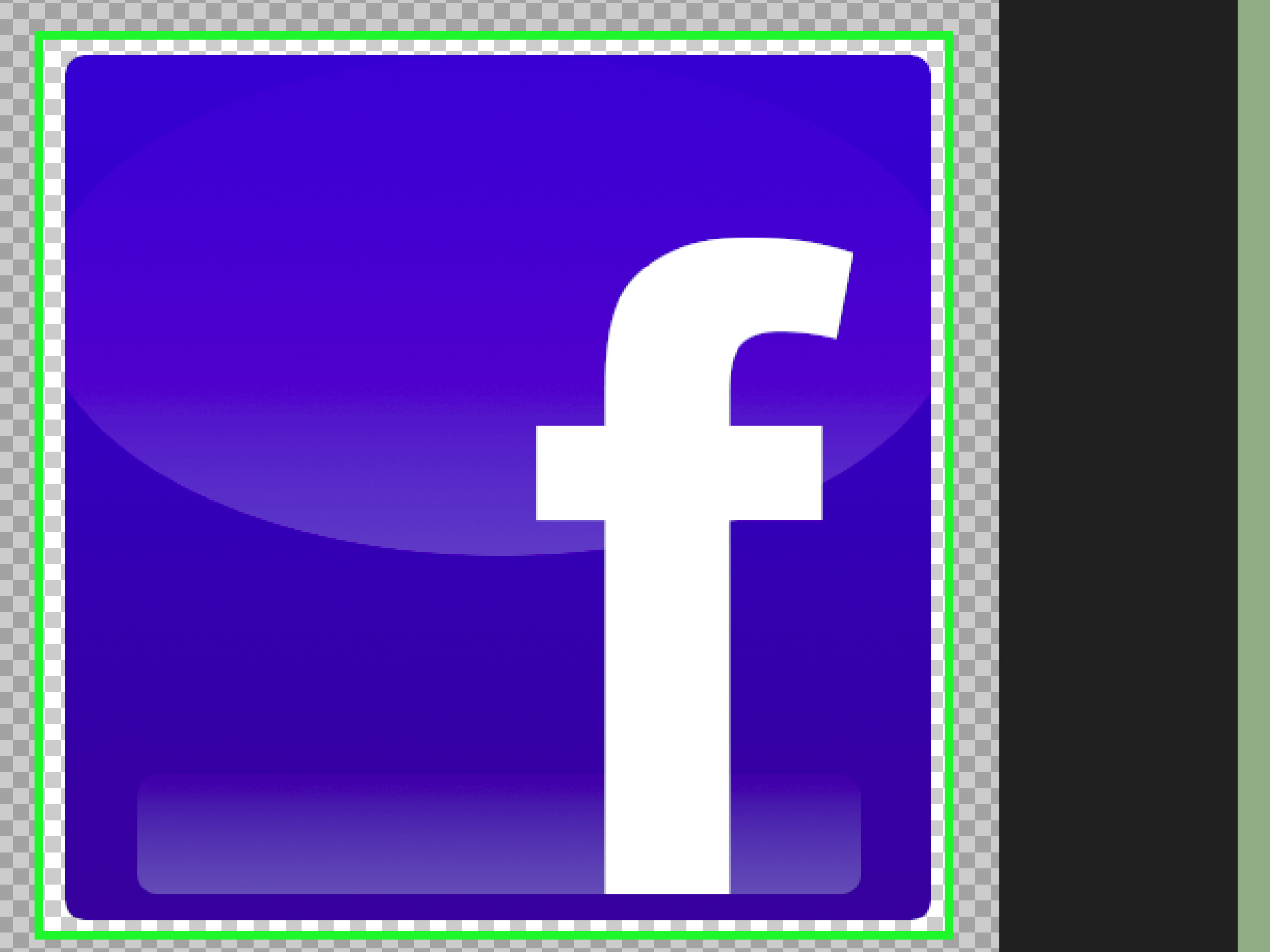 How to Create a Facebook Icon Using Photoshop: 14 Steps