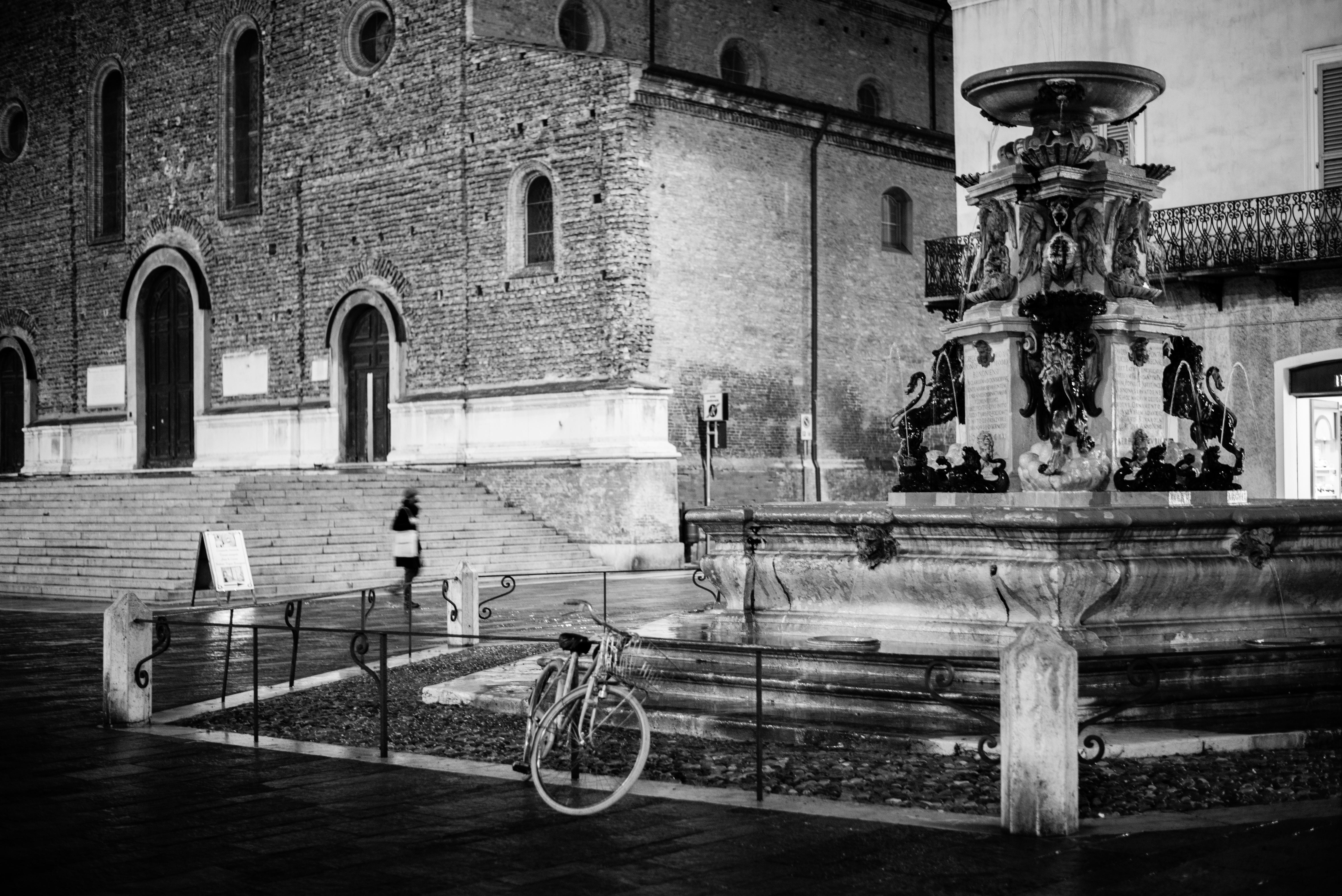 Faenza, piazza del duomo photo