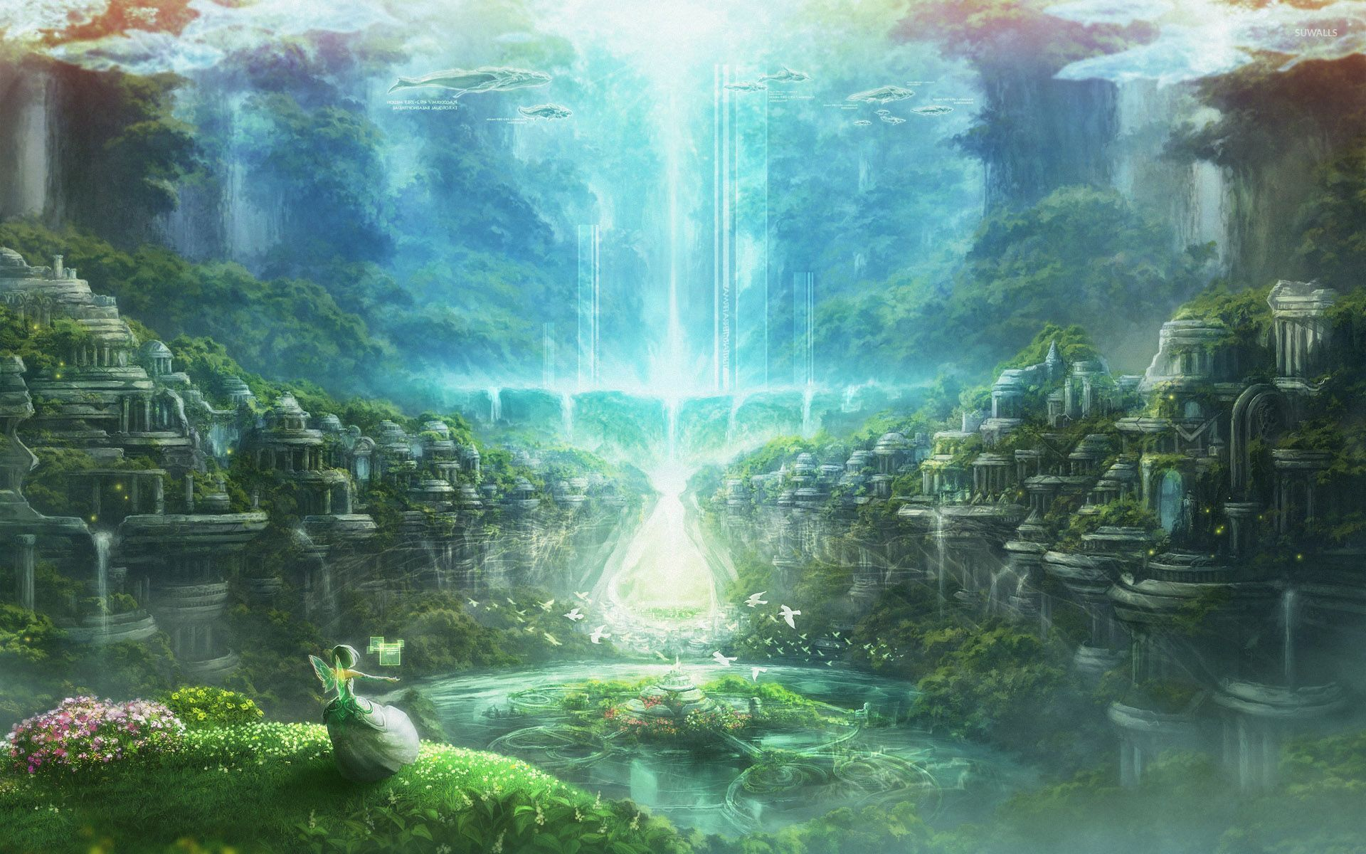 Fairyland wallpaper - Anime wallpapers - #30665