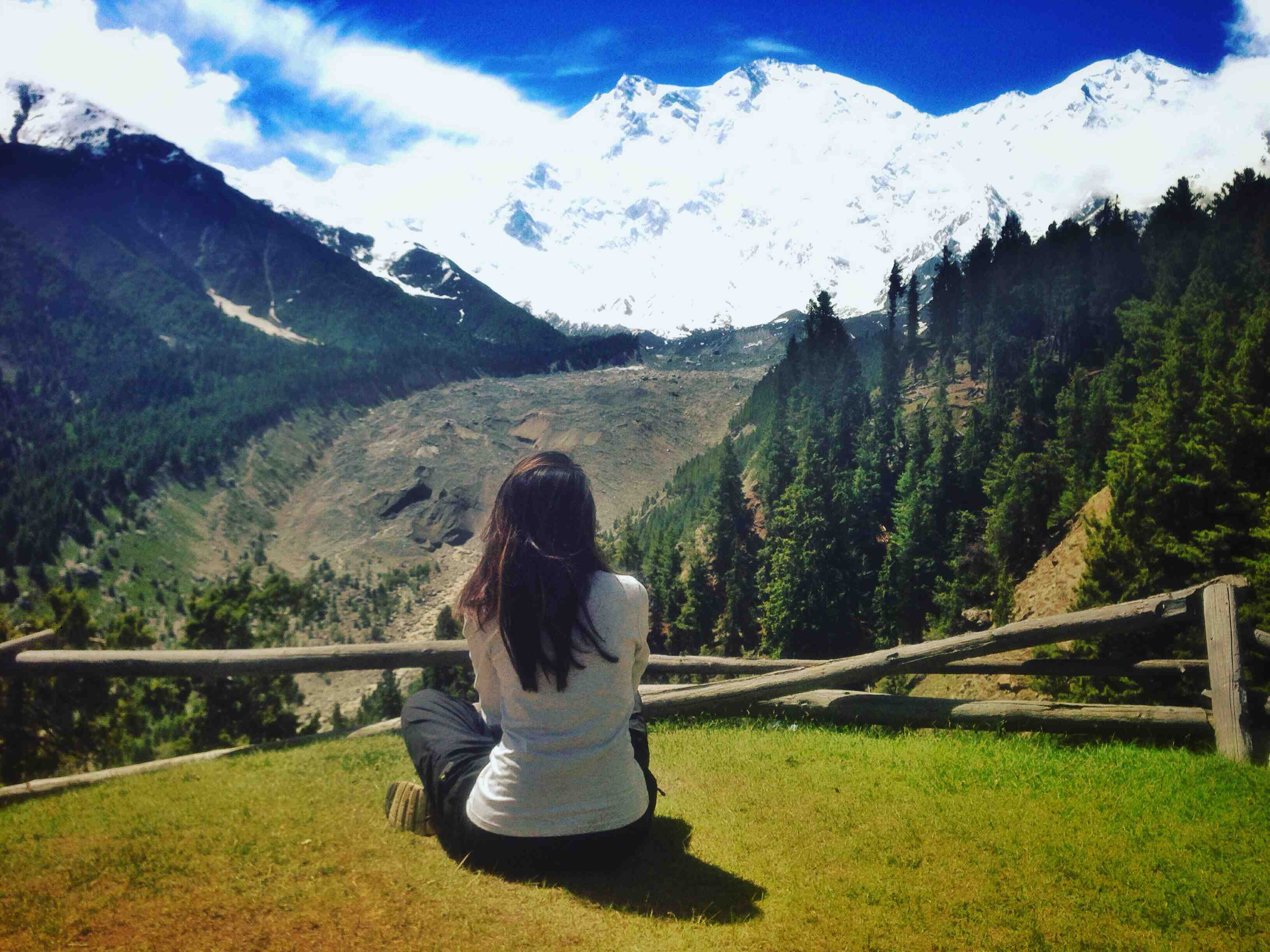 HIKING TO FAIRY MEADOWS PAKISTAN - Girl With Green Passport