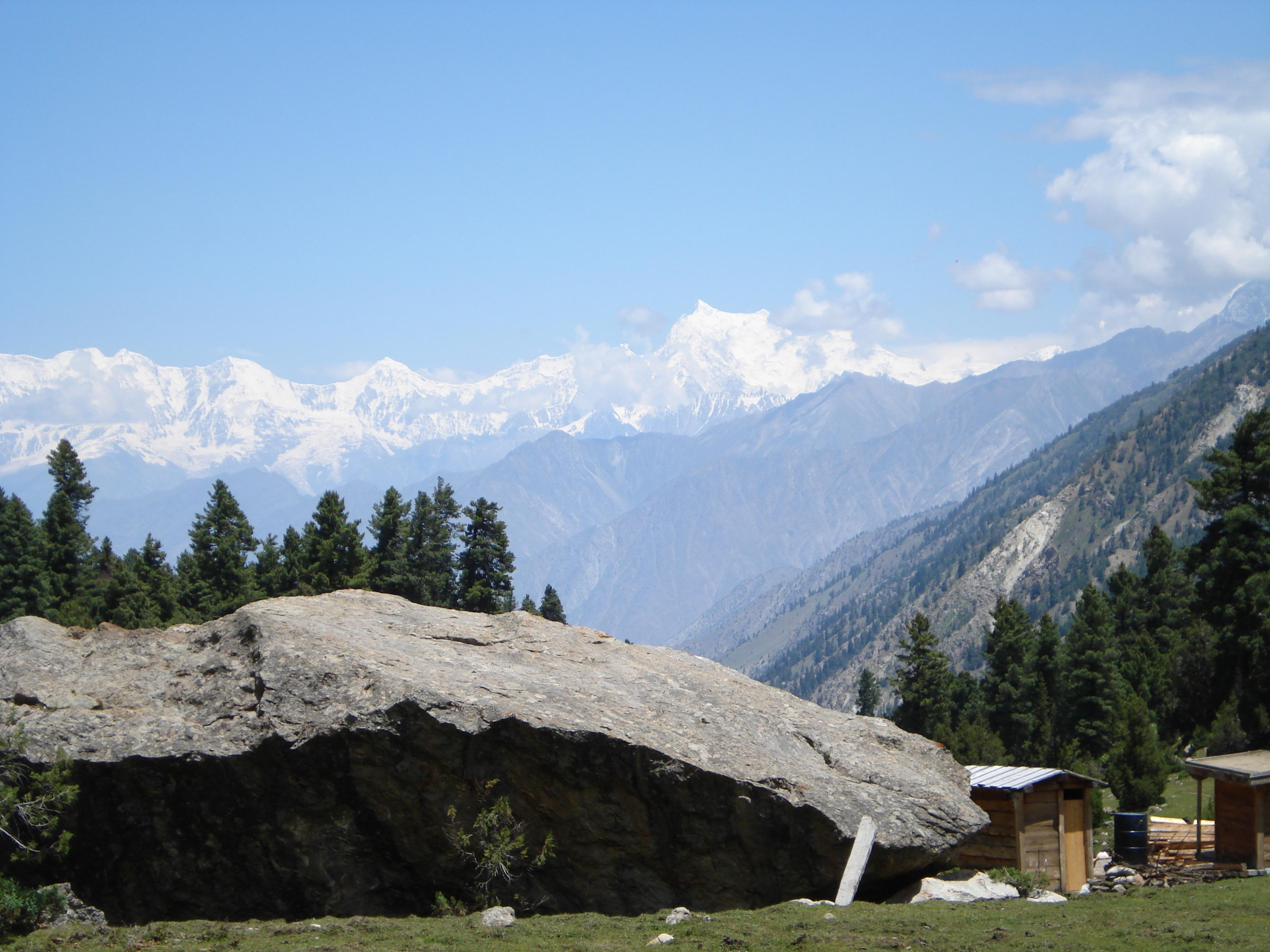 Fairy Meadows, Cliff, Clouds, Fairymeadows, Hills, HQ Photo