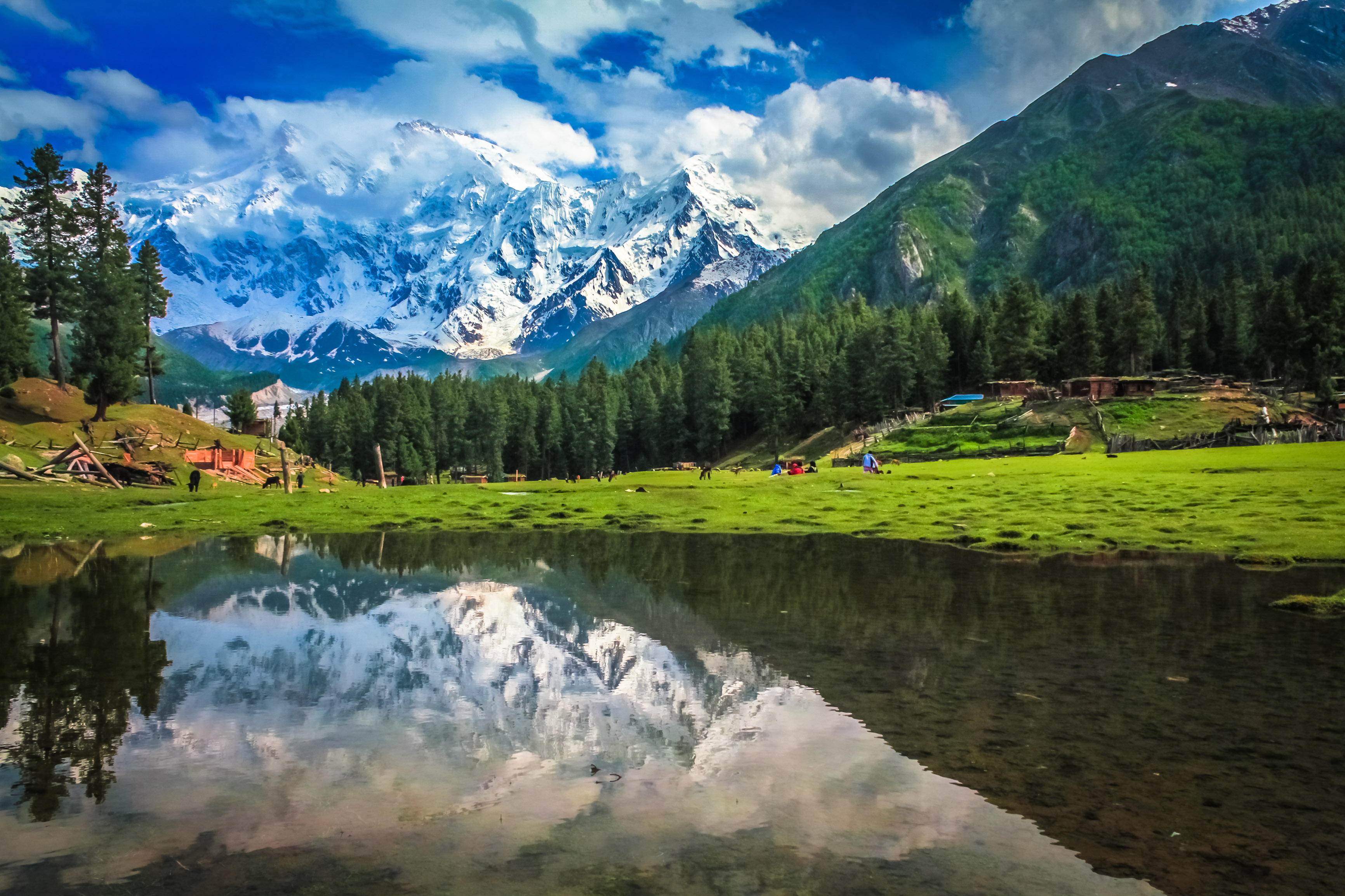 Fairy Meadows Lake - Explore Beauty Of Pakistan