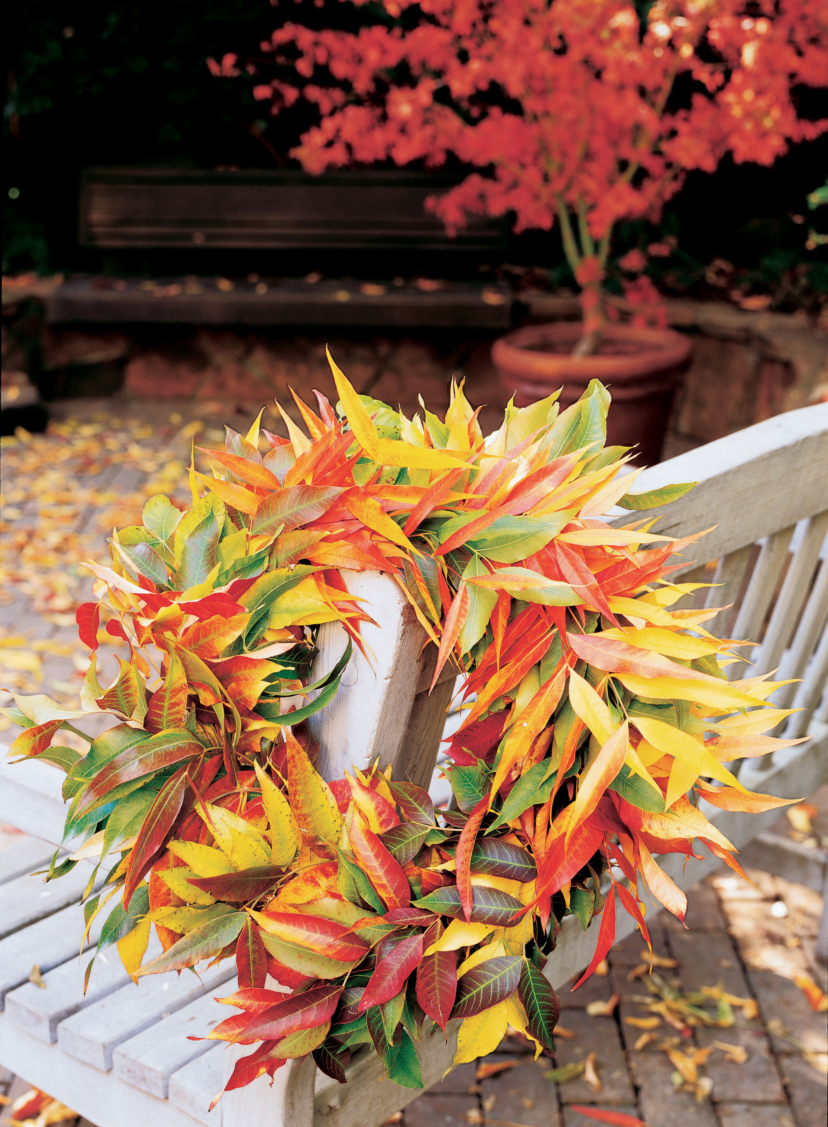 4 Ways to Decorate with Fall Leaves - Sunset Magazine