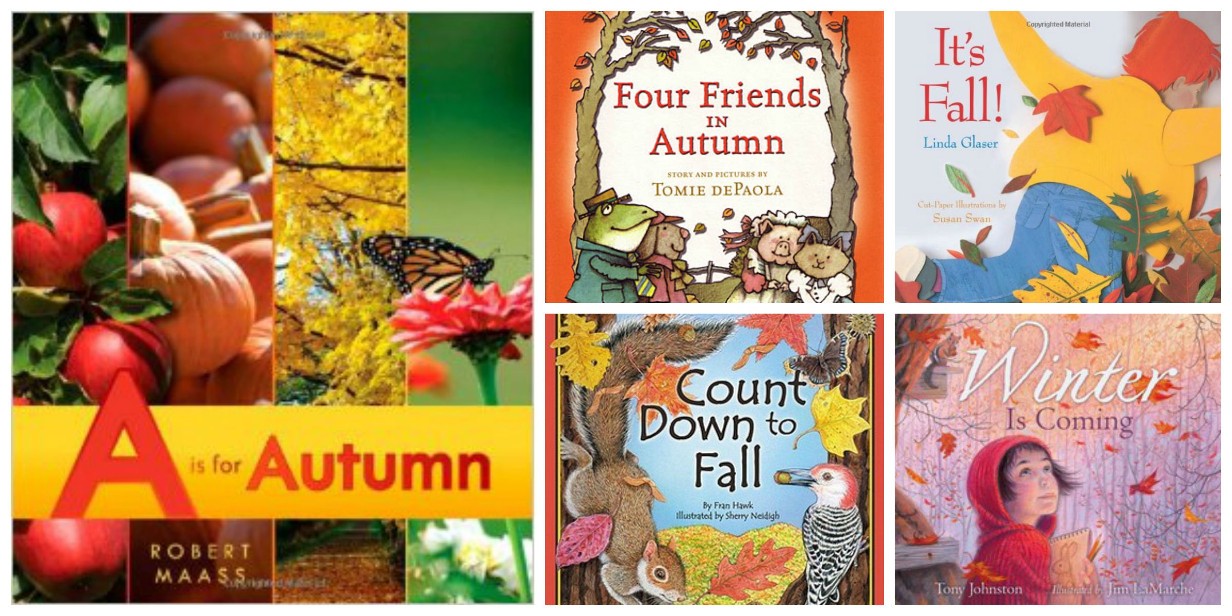 Favorite Children's Books About Fall : Sturdy for Common Things