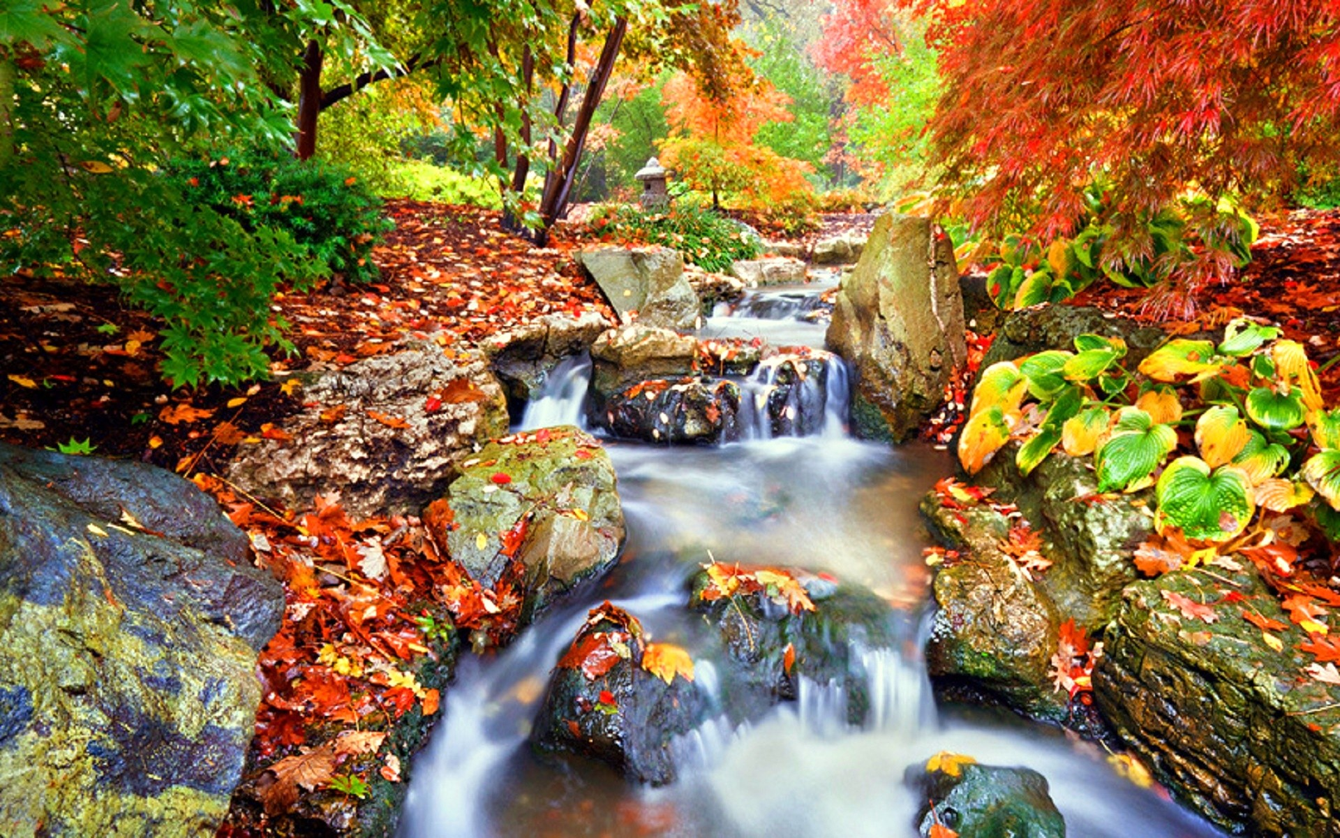 Waterfall: Fall Season Japanese Garden Places Parks Photography Love ...