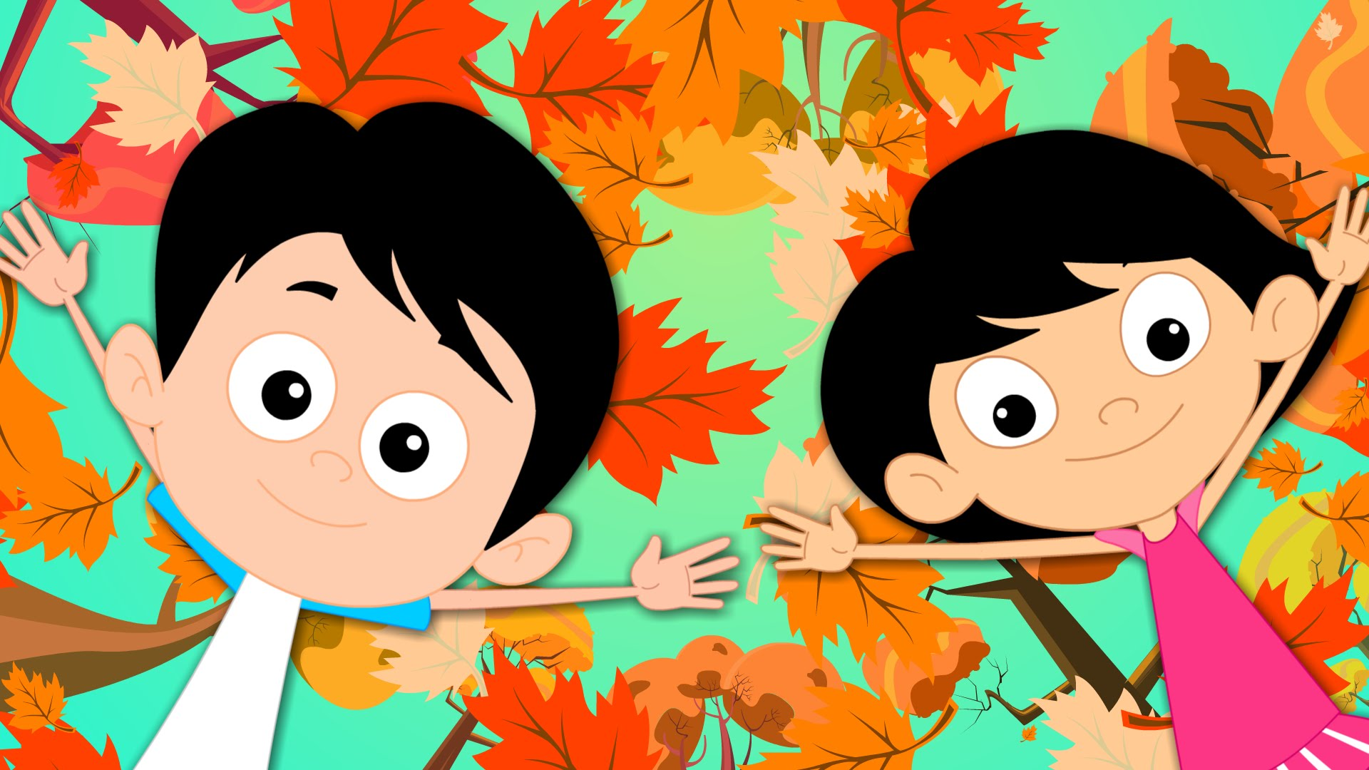 Autumn Song | Season Of Fall Song | Autumn Season | Kids Tv Nursery ...