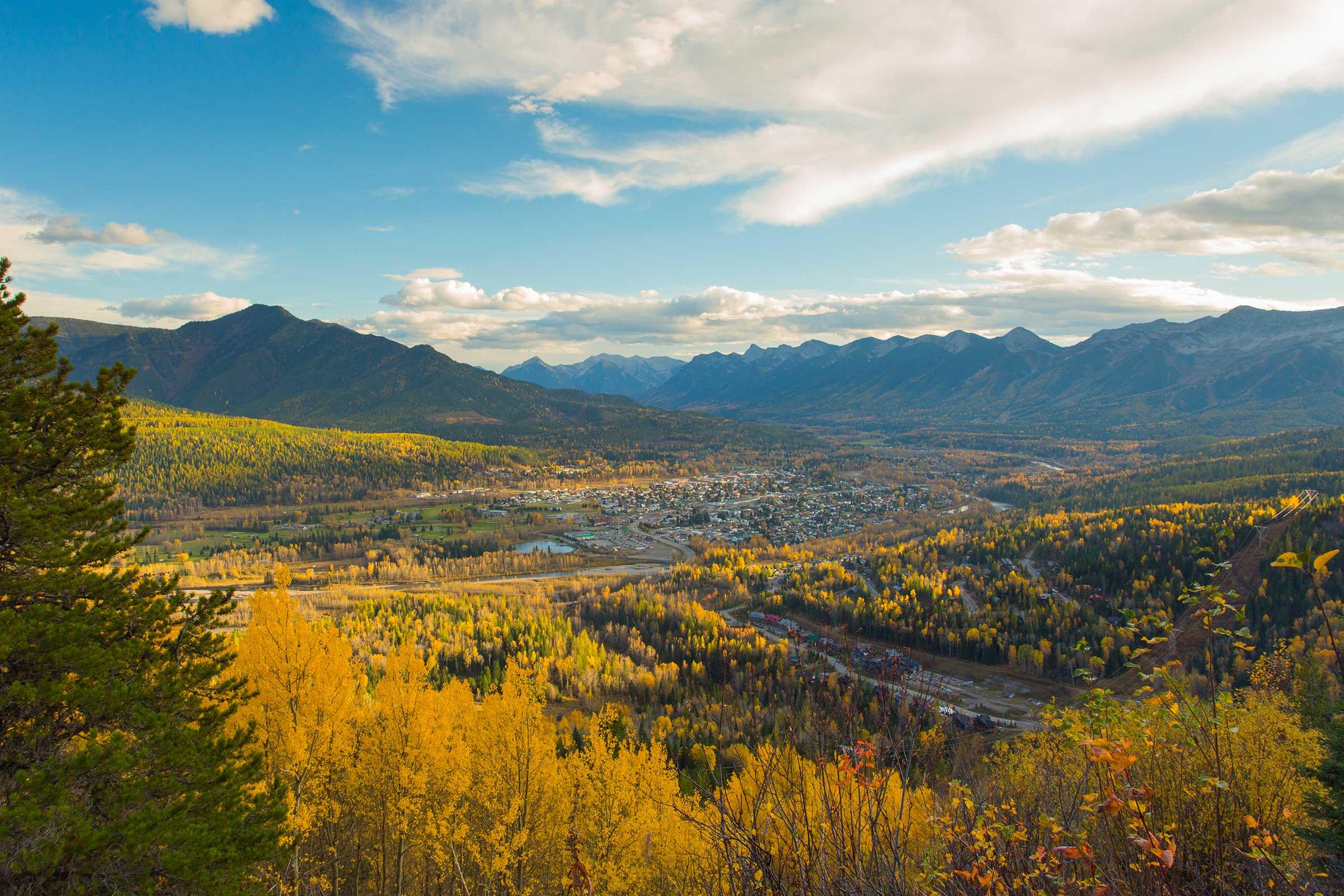 Fall Season in Fernie, British Columbia - Northwest Travel Magazine