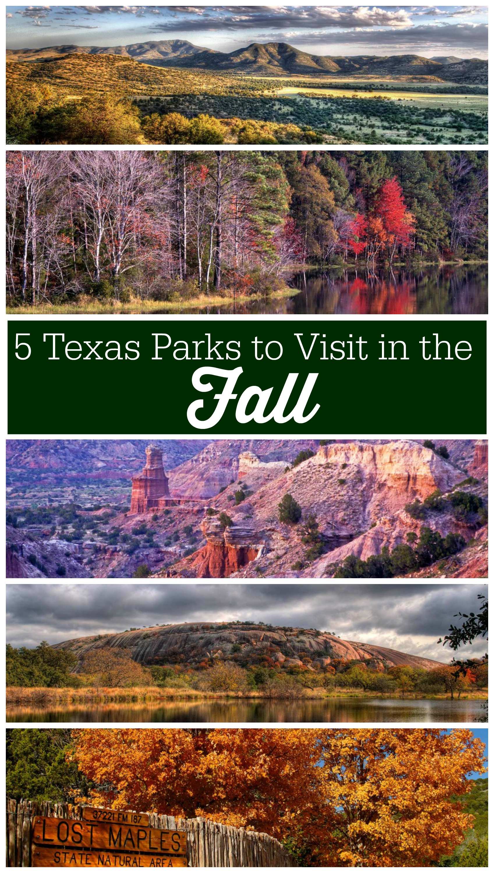 5 Texas Parks You Have to See this Fall Season for Color