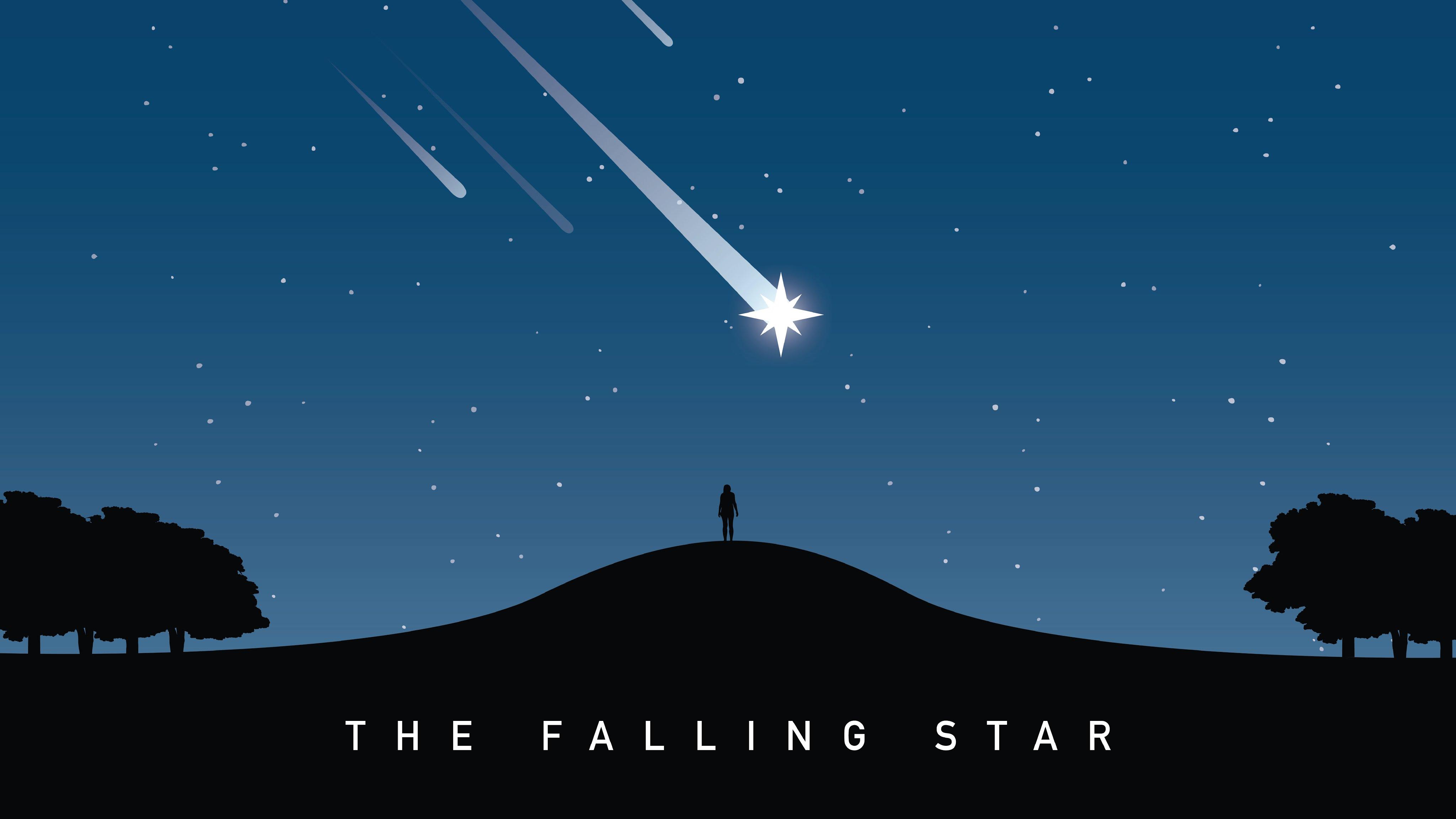 Falling star photo