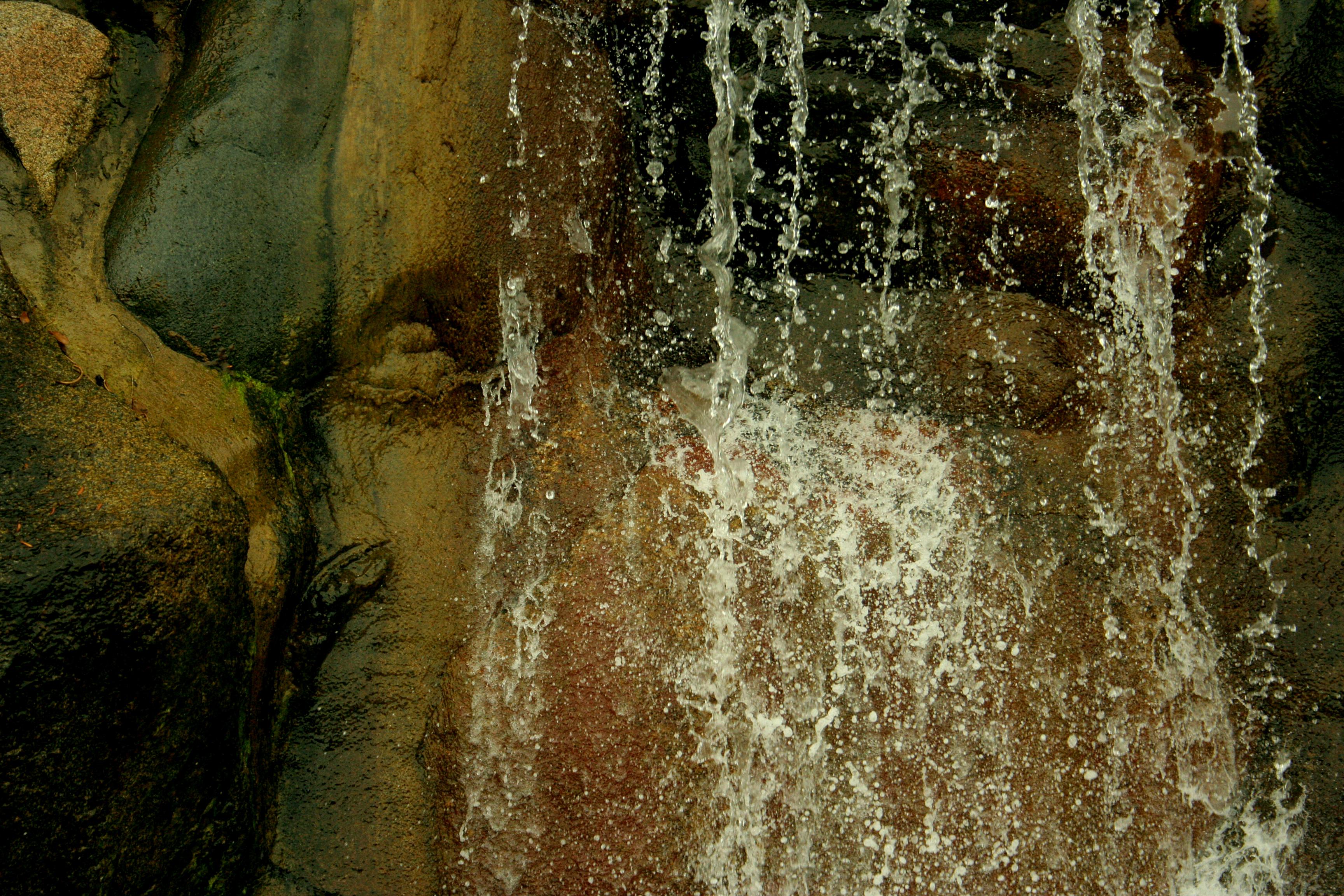Texturex falling water waterfall rock feature droplet Texturex ...