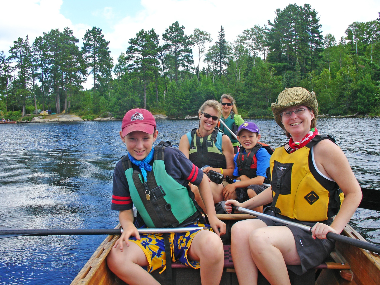 Voyageurs National Park Family Canoe - Wilderness Inquiry