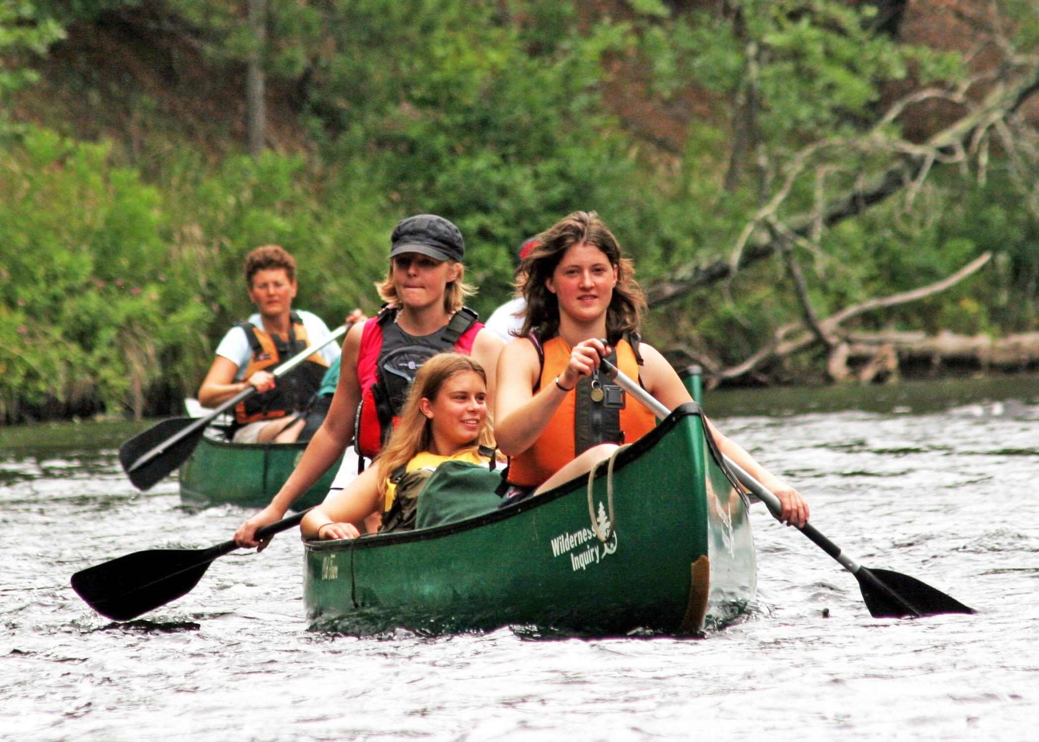 Namekagon River Canoe - Wilderness Inquiry