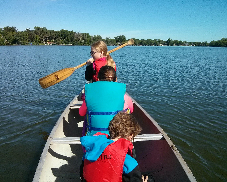 13) We Went Canoeing as a Family #NewThingEveryDay – Electronsmith Blog