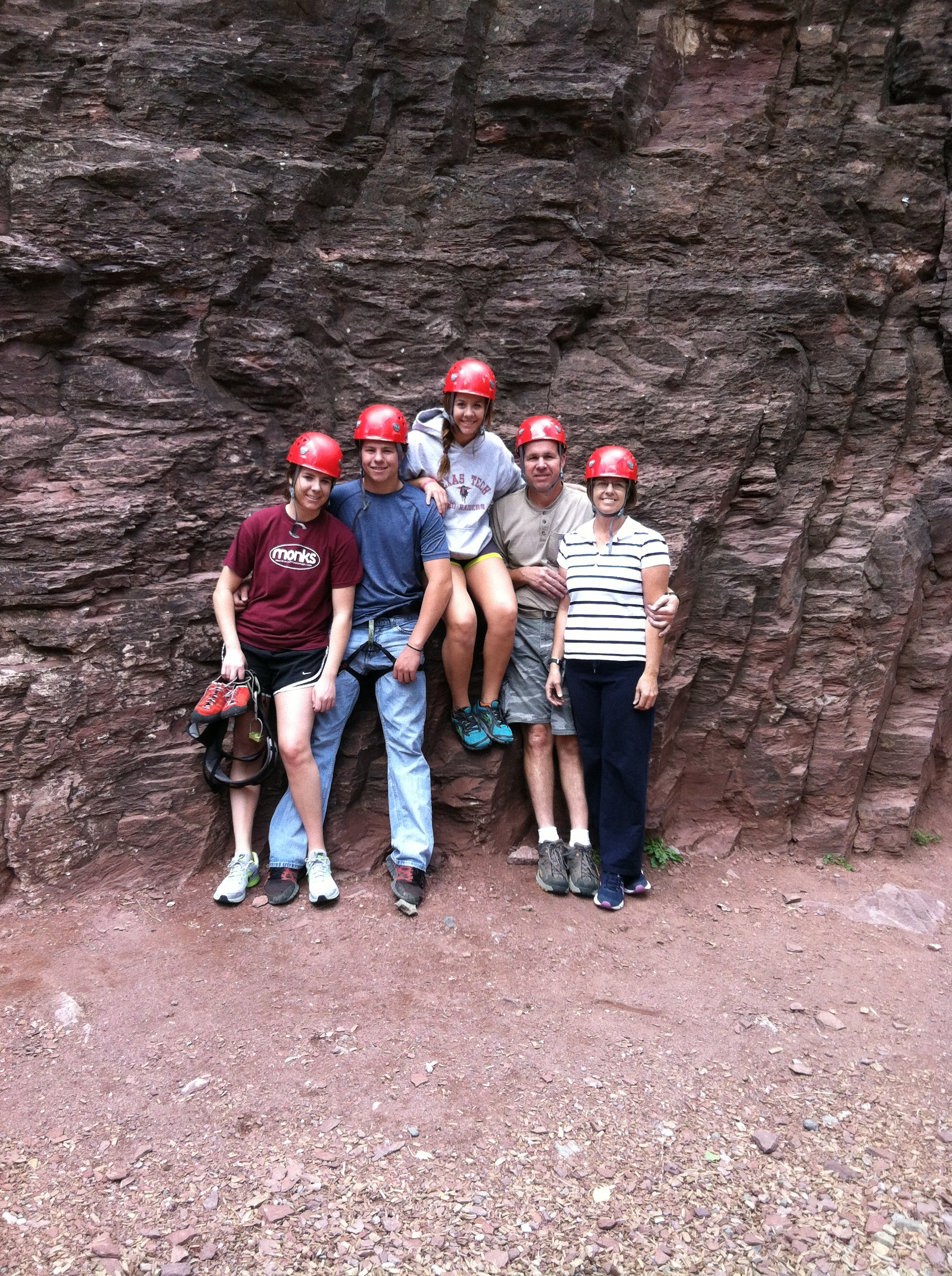 Kids and Families Rock Ouray - Peak Mountain Guides