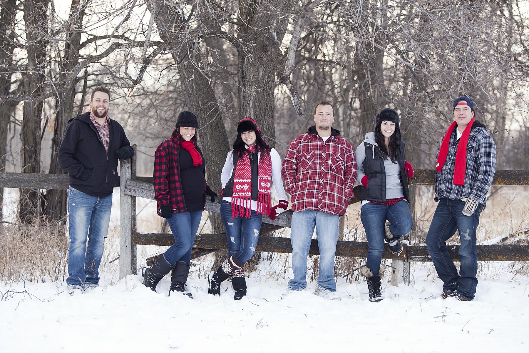 Winter Family Fun | Godfredsen Photography