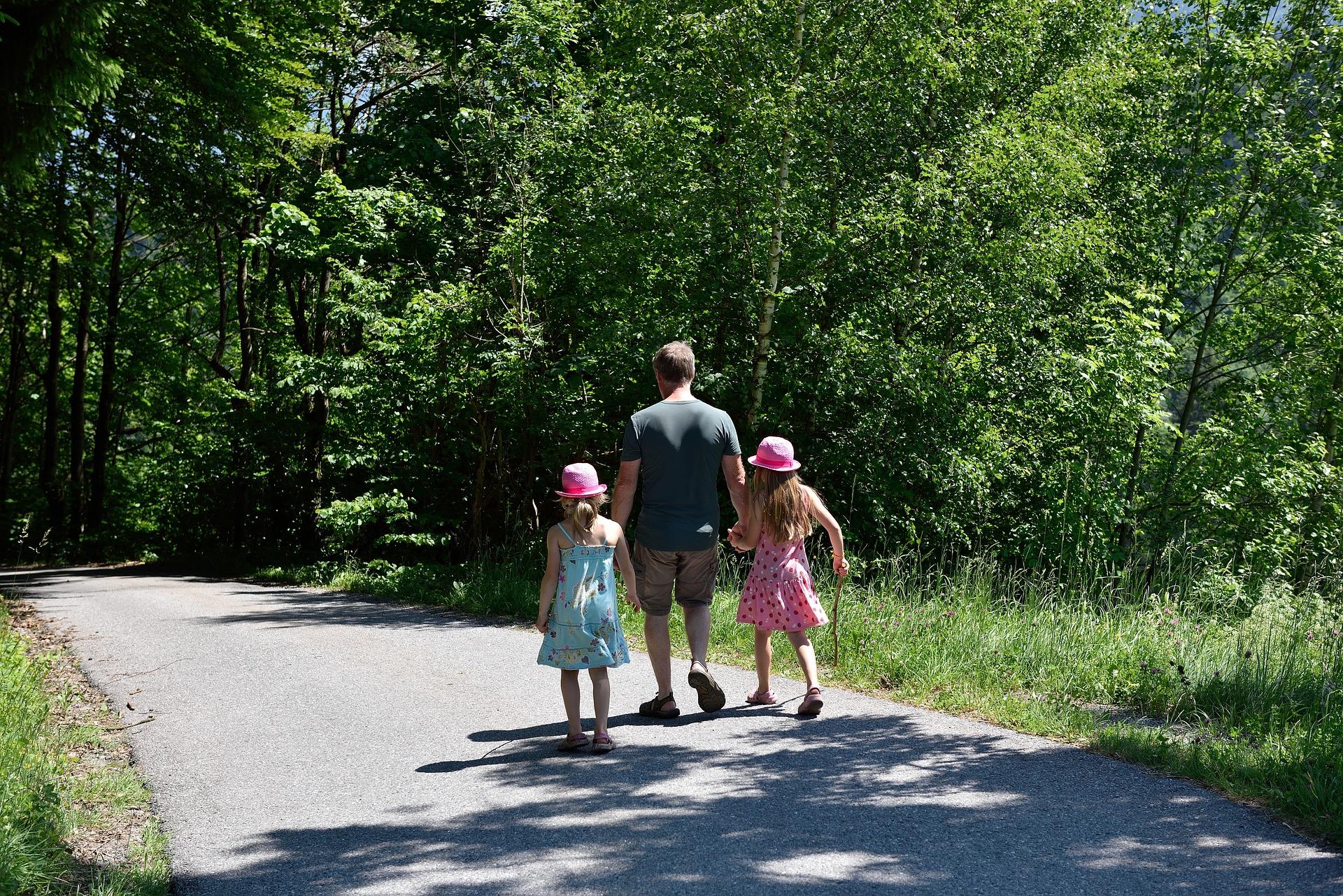Family Walk, Activity, Family, Feelings, Human, HQ Photo