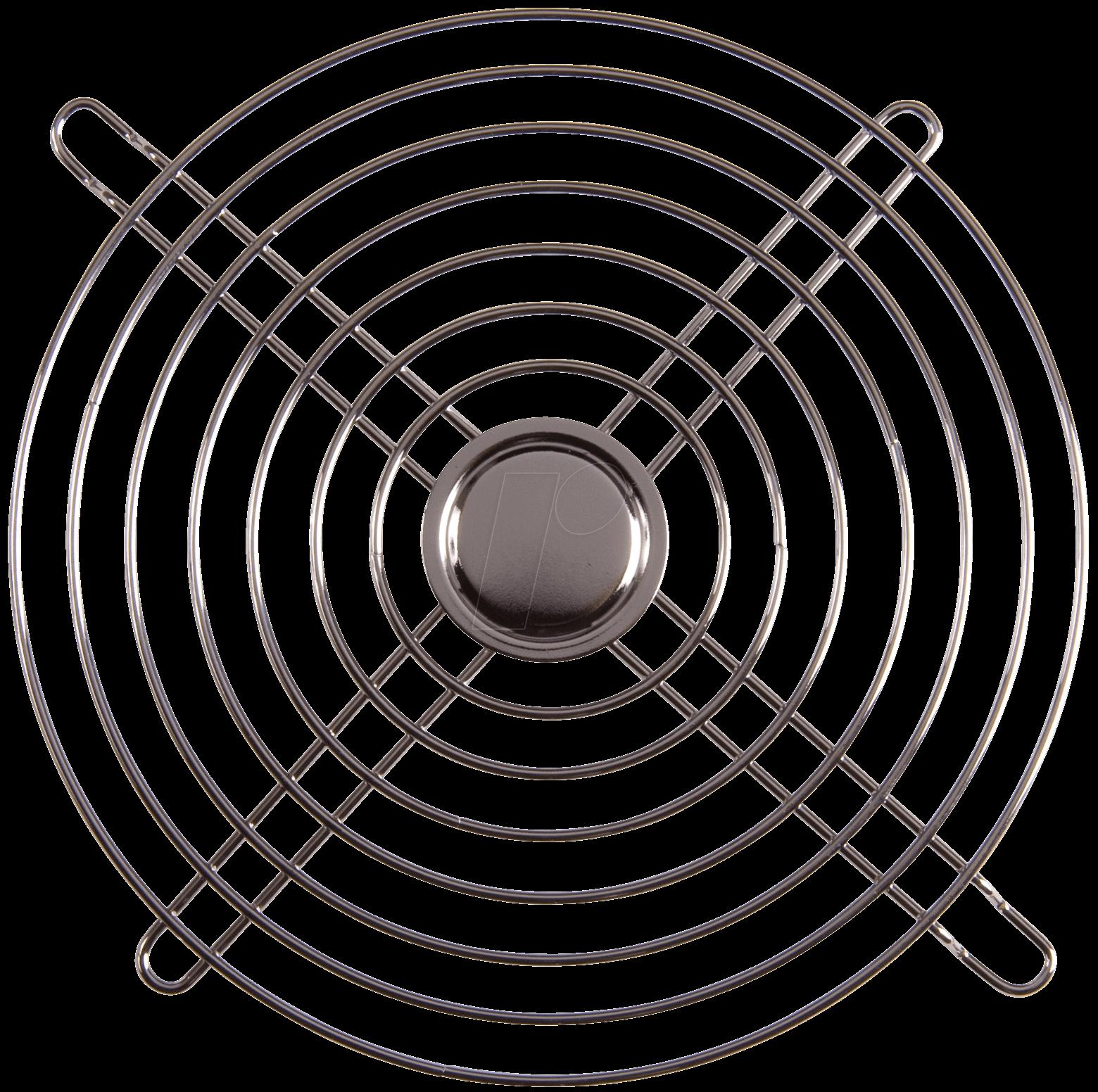GITTER A2175: Fan grill Ø 172 x 151 mm, oval at reichelt elektronik