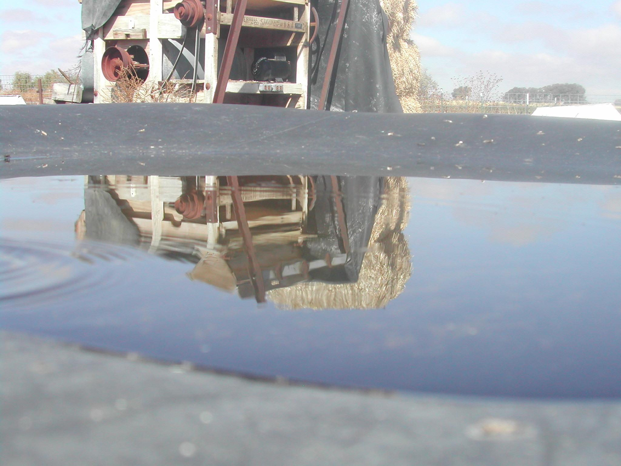 Farm reflections, Bspo06, Farm, Pool, Reflection, HQ Photo
