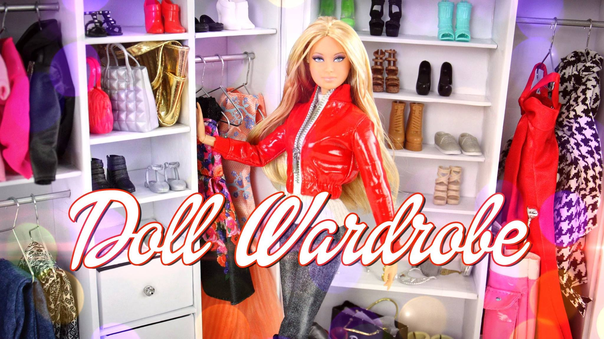 DIY - How to Make a Doll Wardrobe - Handmade - Fashion - Doll ...