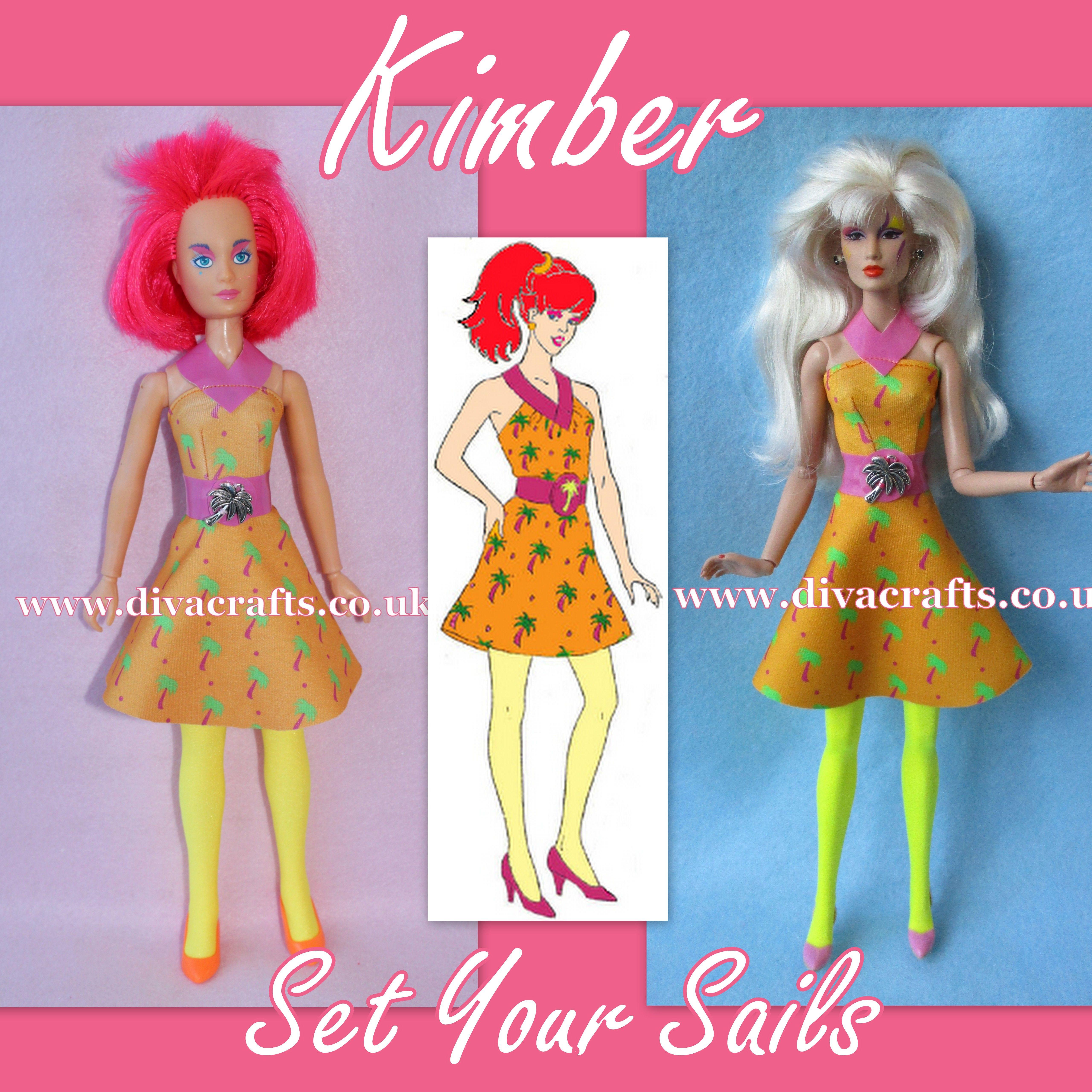 Cazjar Jem Fashion Showcase. Handmade Custom Jem Doll Clothes for ...