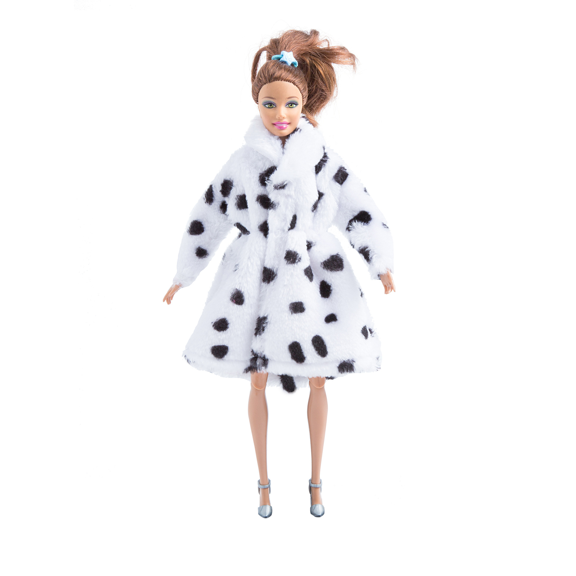 Fashion Handmade Clothes Dress Grows Outfit Dairy cow pattern ...