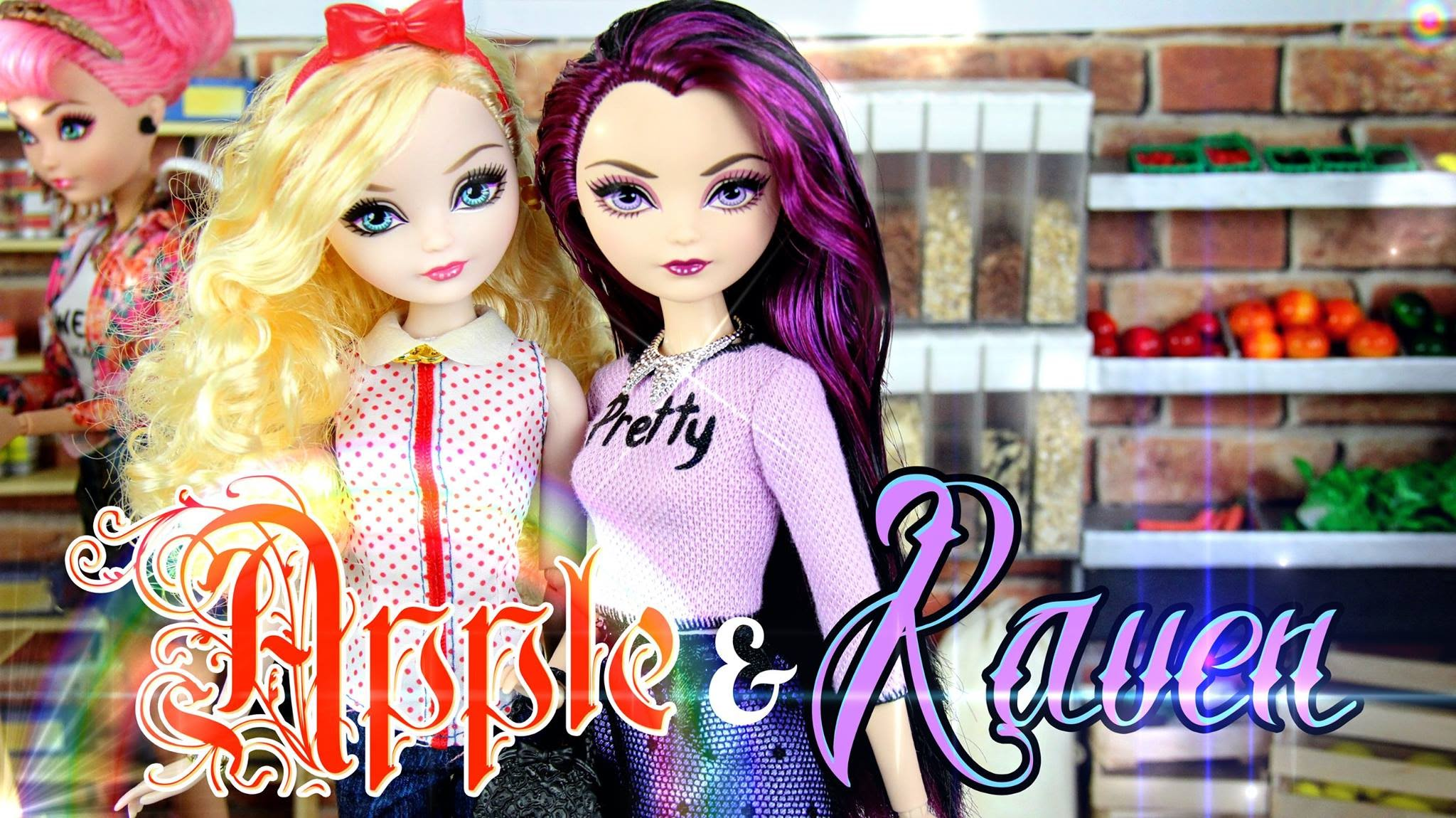 DIY - Custom Doll: After Ever After High - Apple & Raven - FASHION ...