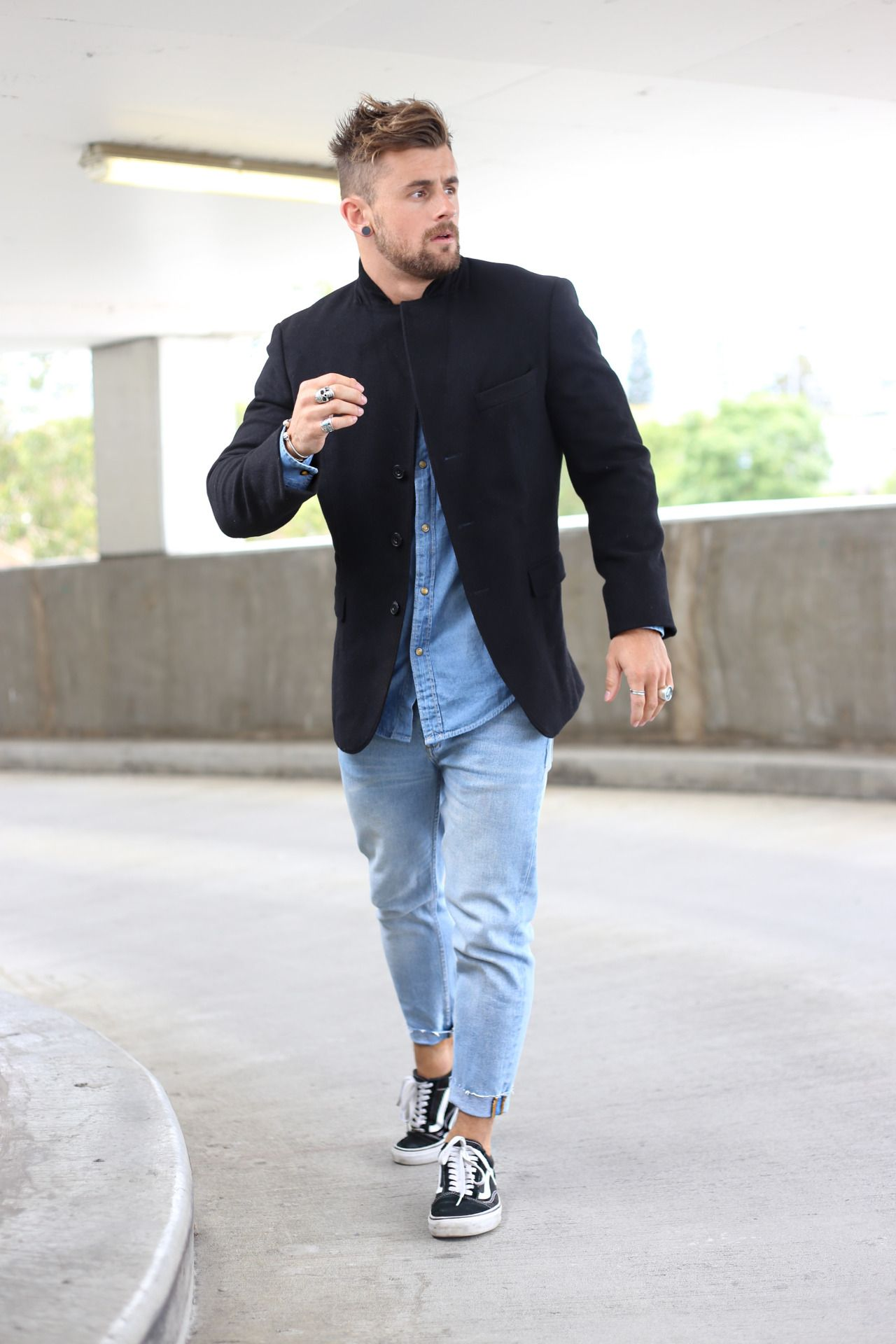 Fashionable guy photo