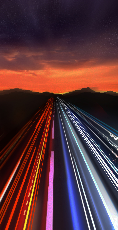 Fast Traffic Light Trails - vCORE Technology Partners