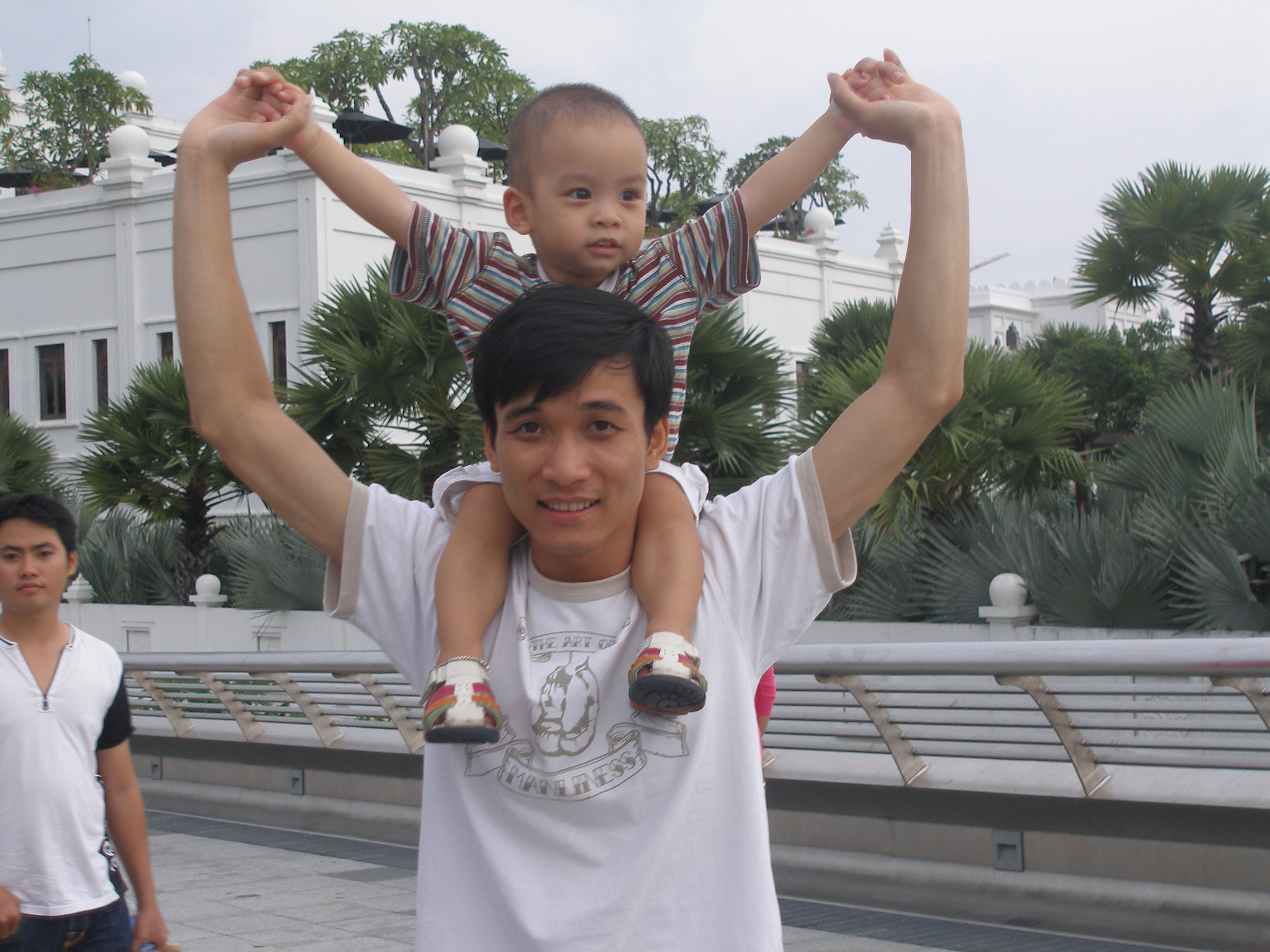 Father and Son, Adorable, Shoulders, Kid, Life, HQ Photo