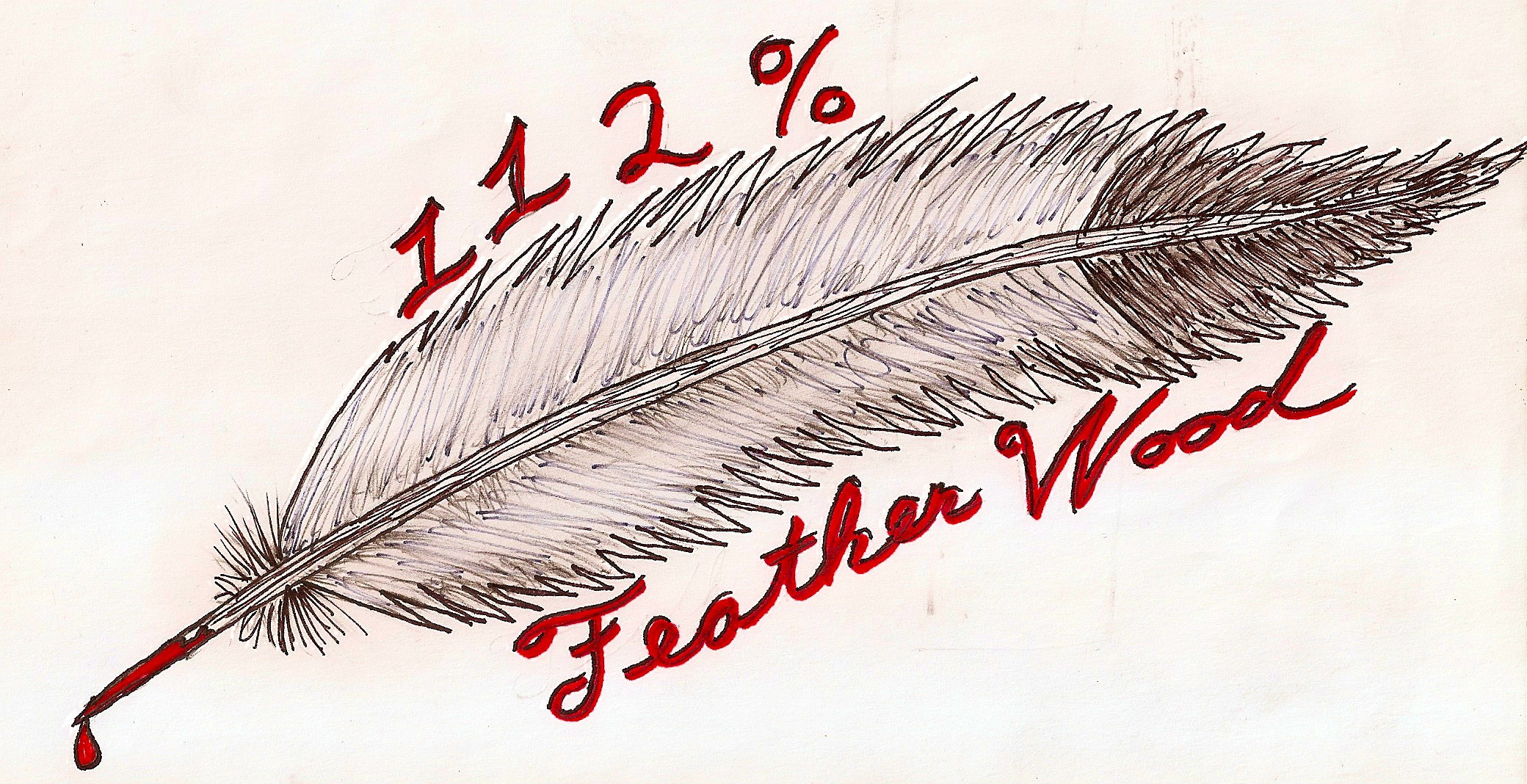 112 Feather Wood by DyingBreedDesigns on DeviantArt