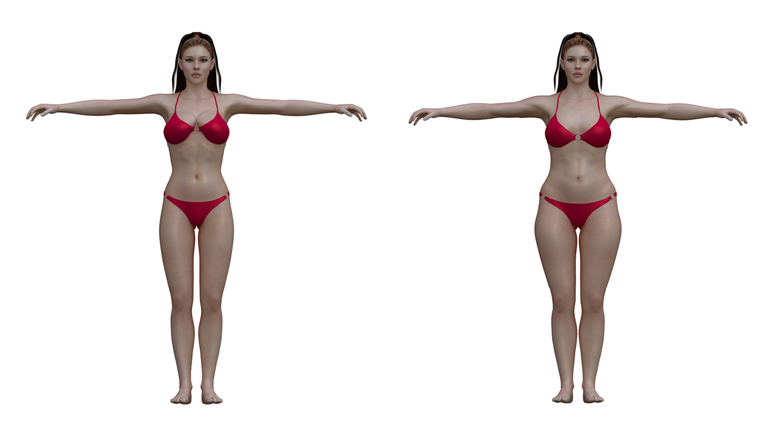 Ideal to real: What the 'perfect' body really looks like for men and ...