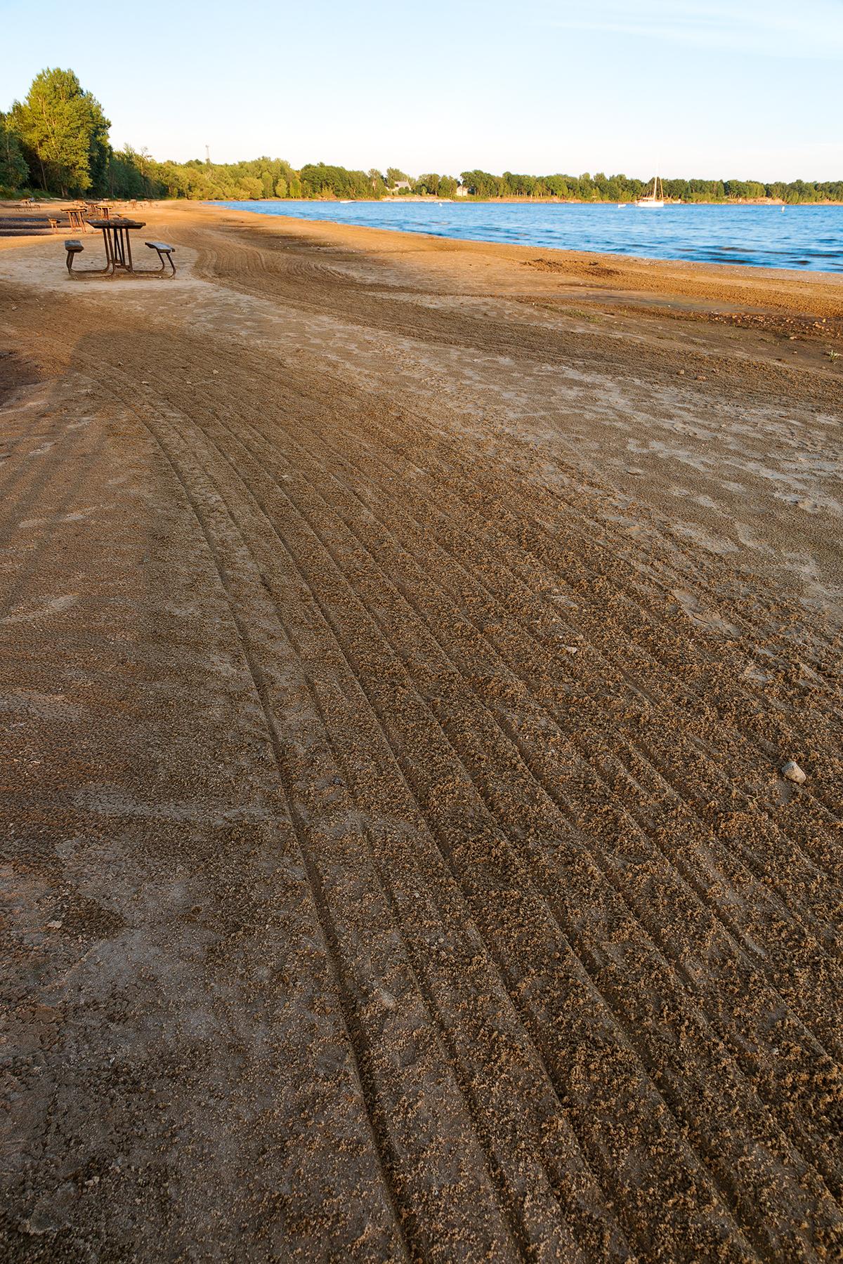 Feng shui summer beach photo
