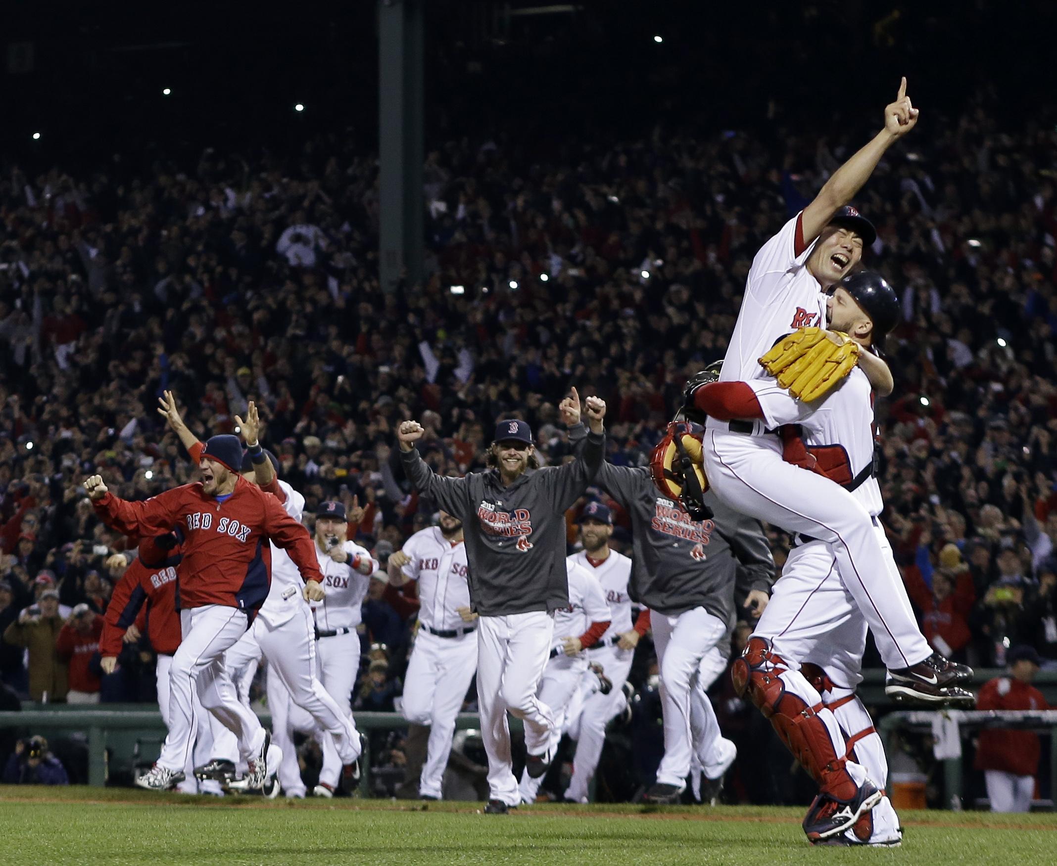 Red Sox World Series 2013 Golf Shirt - DREAMWORKS