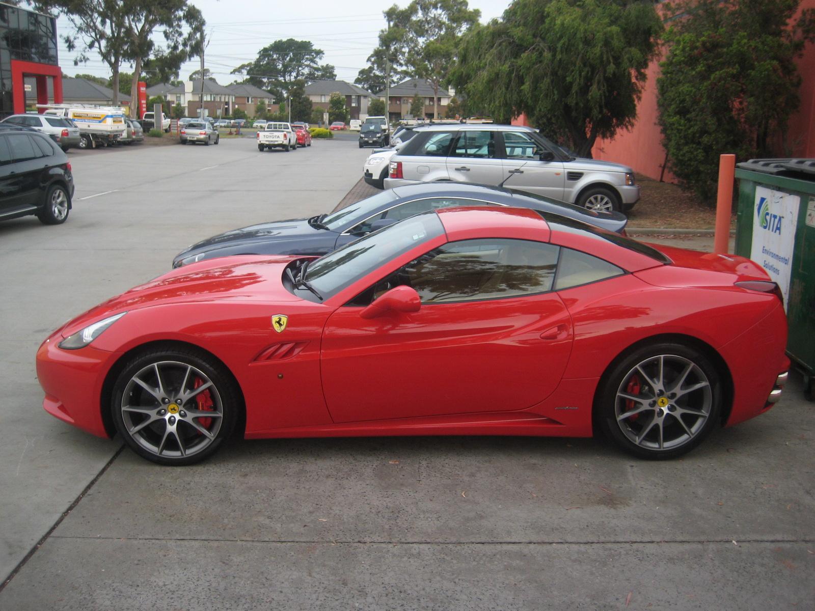 Ferrari California in Red on 20s - 4   MadWhips