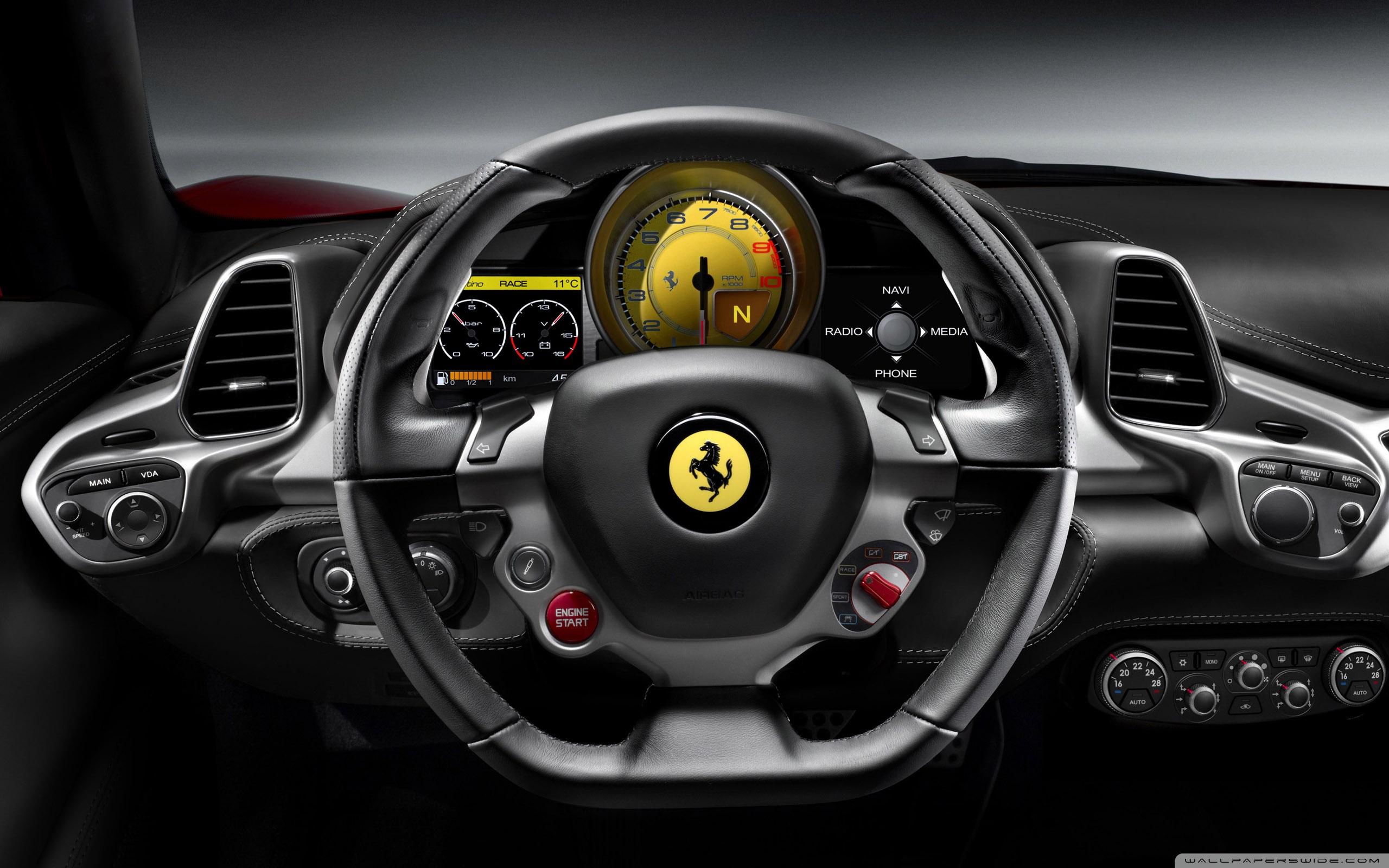 Italia Steering Wheel  E D A K Hd Desktop Wallpaper