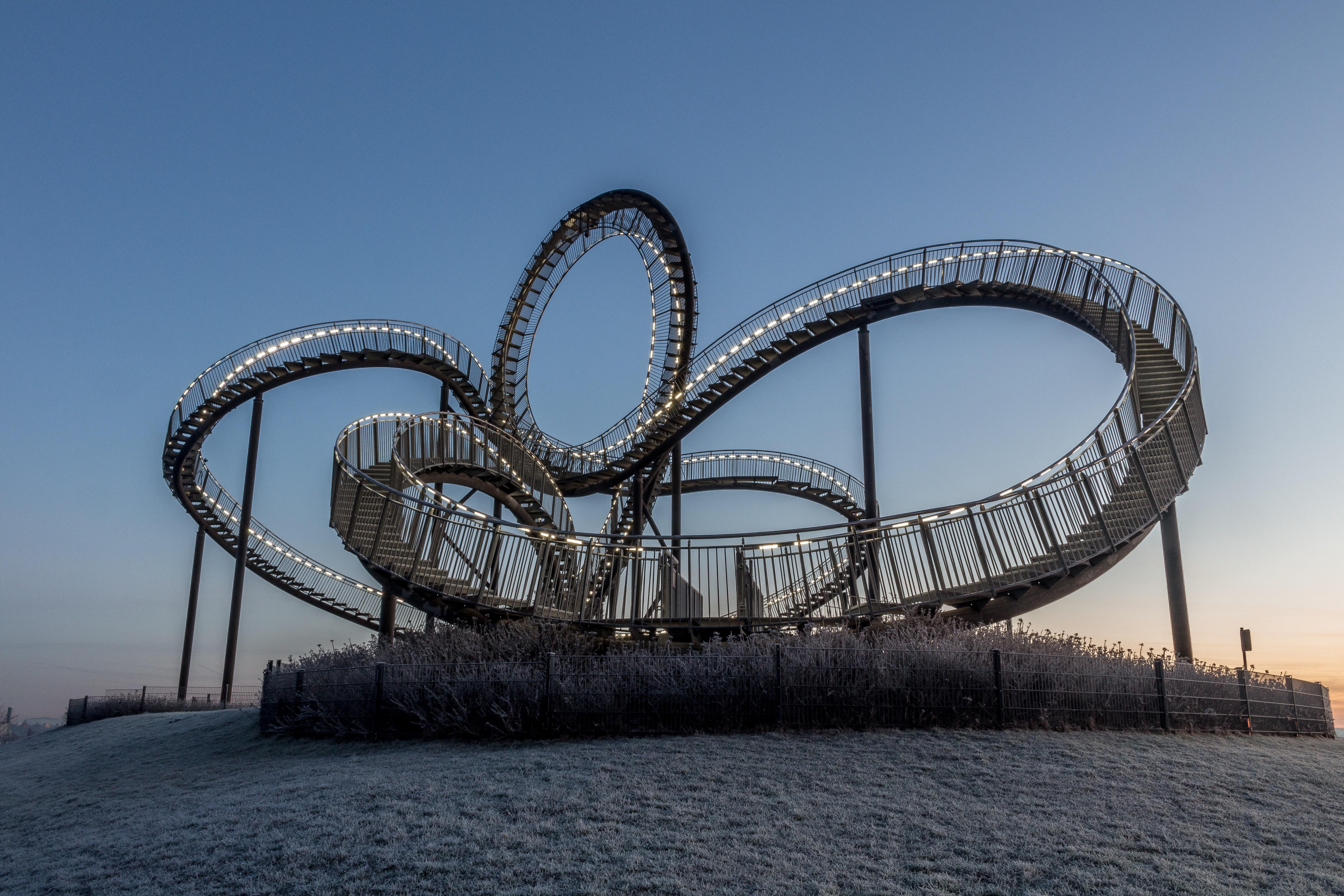 Ferris wheel in city photo