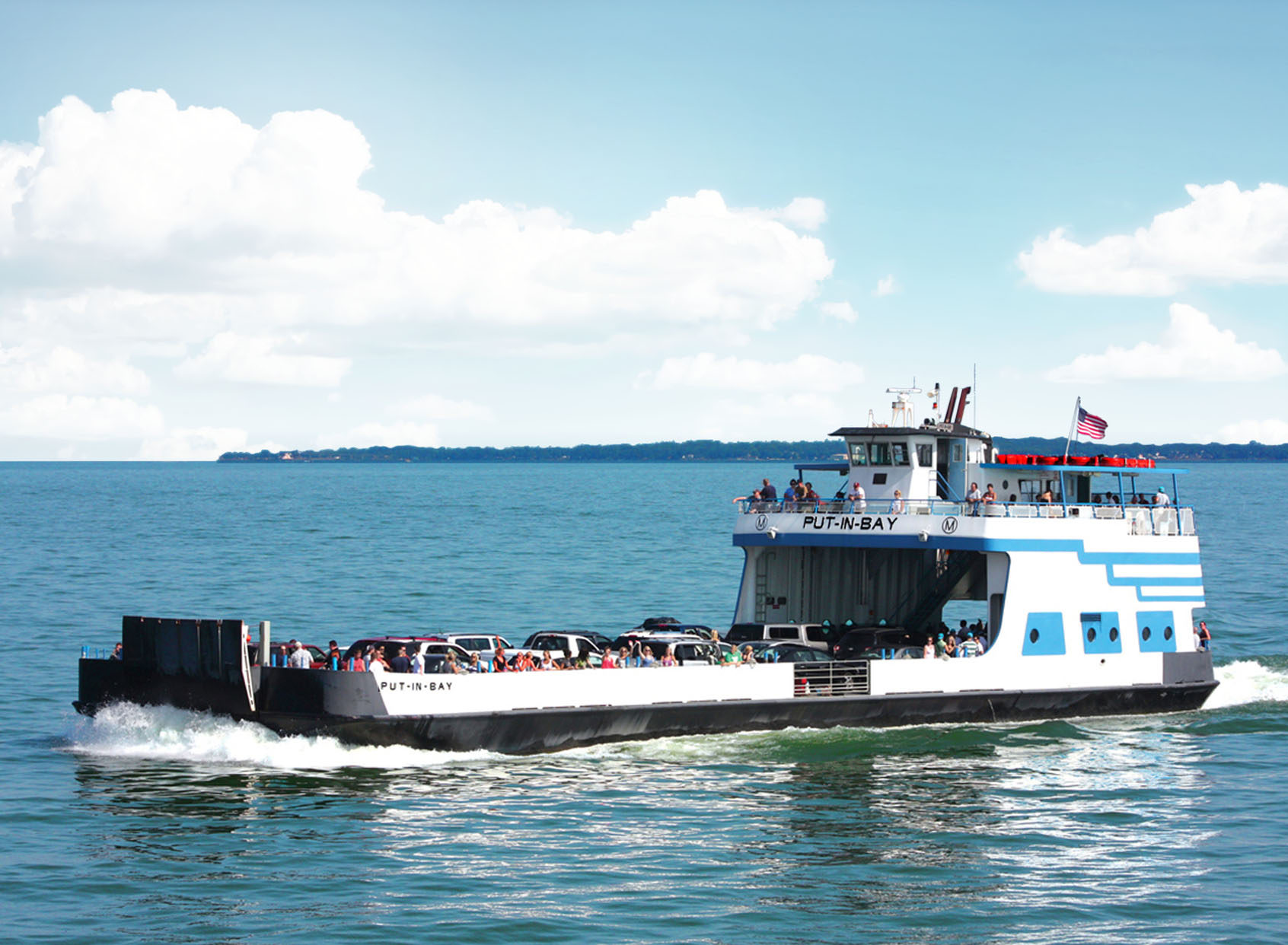 Miller Ferry | Lowest Fares to Put-in-Bay & Middle Bass Island, Ohio