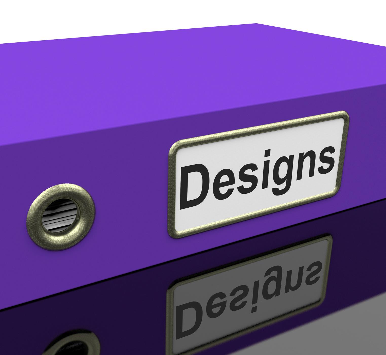 File Designs Indicates Paperwork Plan And Organized, Binder, Folders, Organized, Organize, HQ Photo