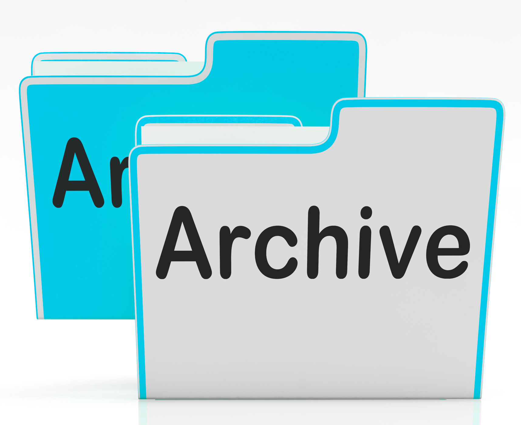 Files archive shows library storage and archives photo