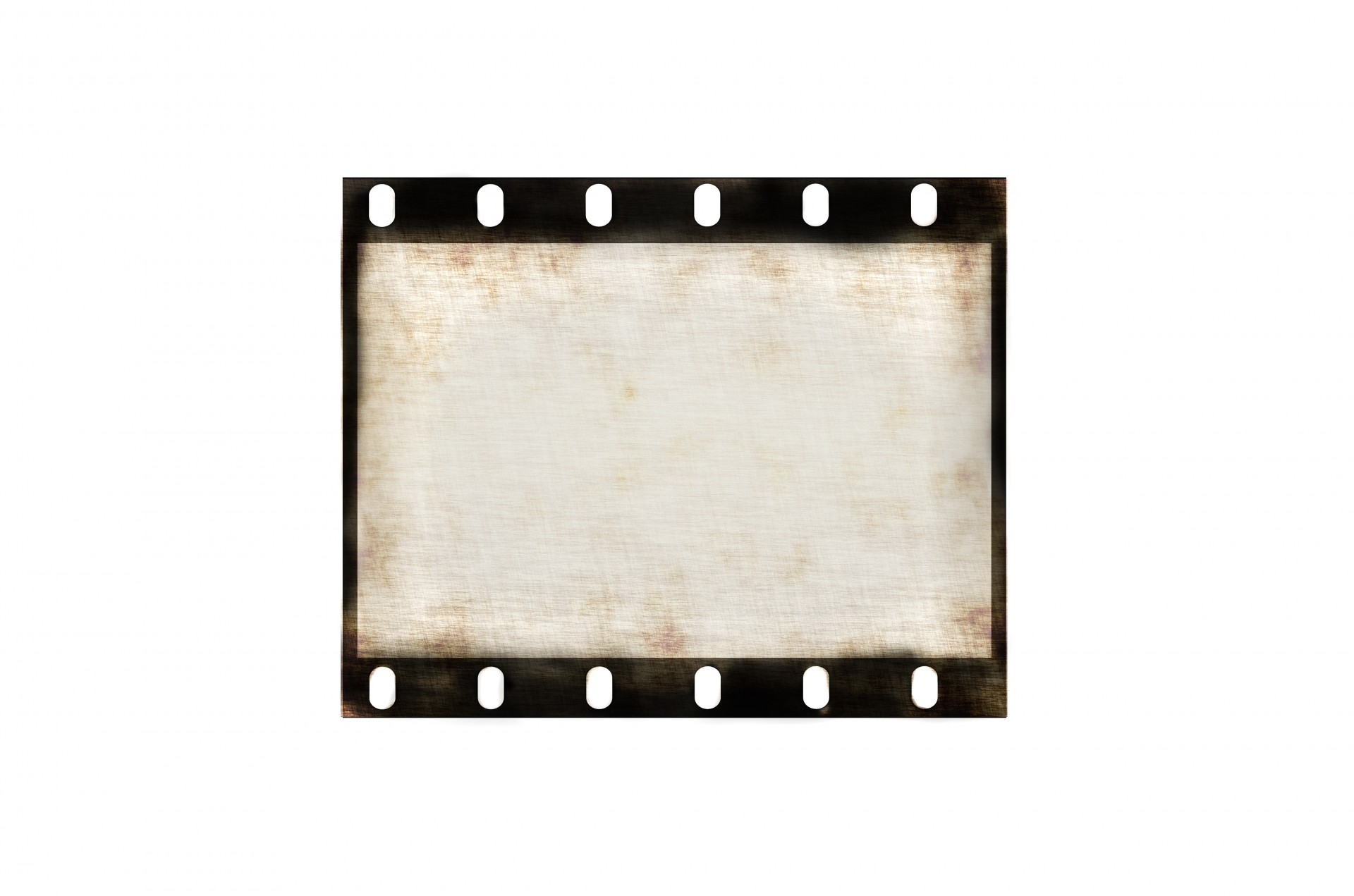 Blank Old Grunge Film Strip Free Stock Photo - Public Domain Pictures